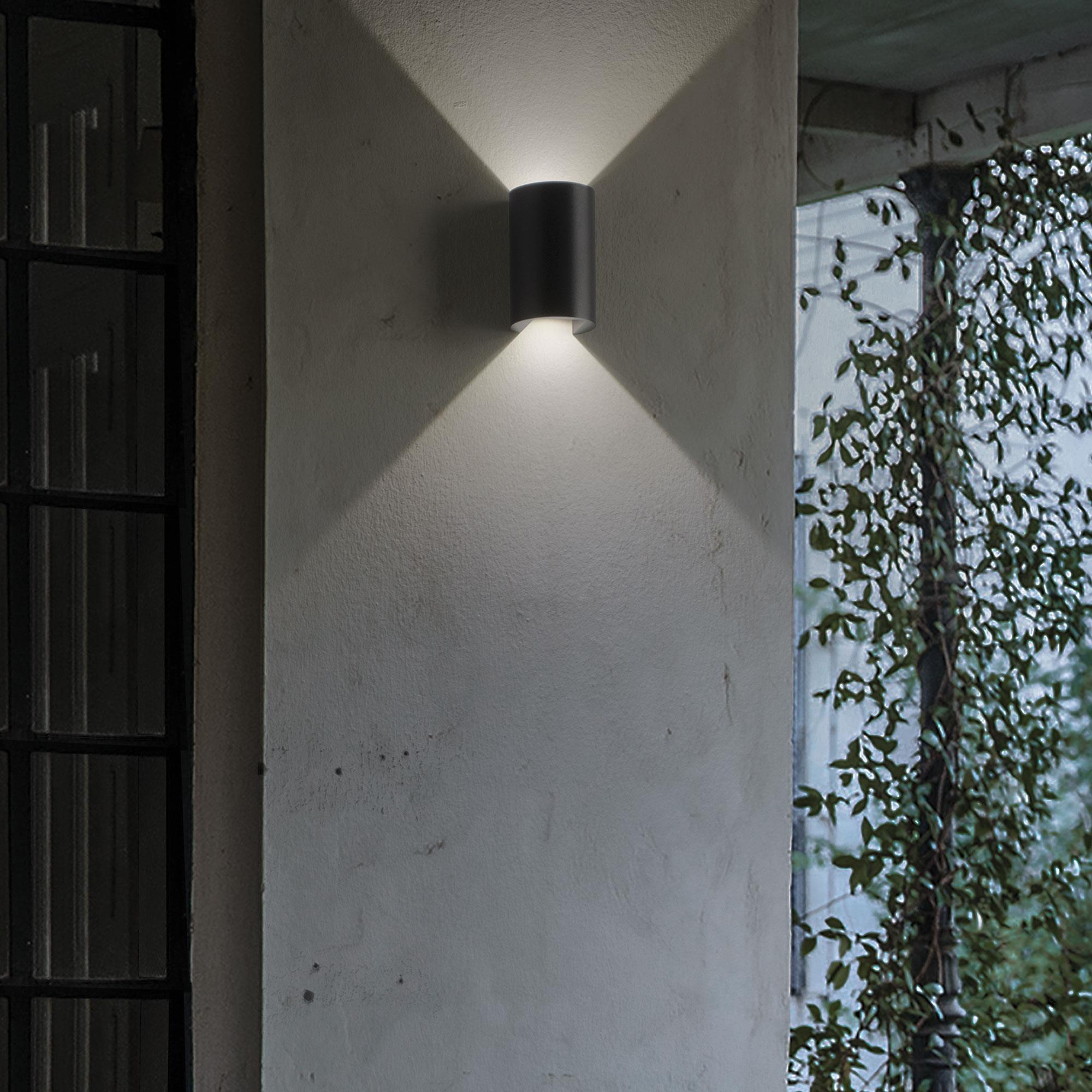 Ideal Lux 137391 APOLLO AP2 NERO kültéri LED falilámpa