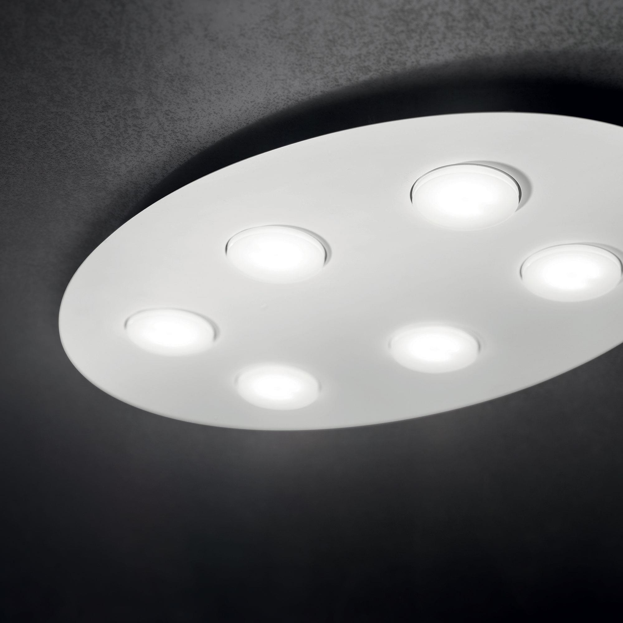 Ideal Lux 175799 LOGOS PL6 BIANCO LED mennyezeti lámpa