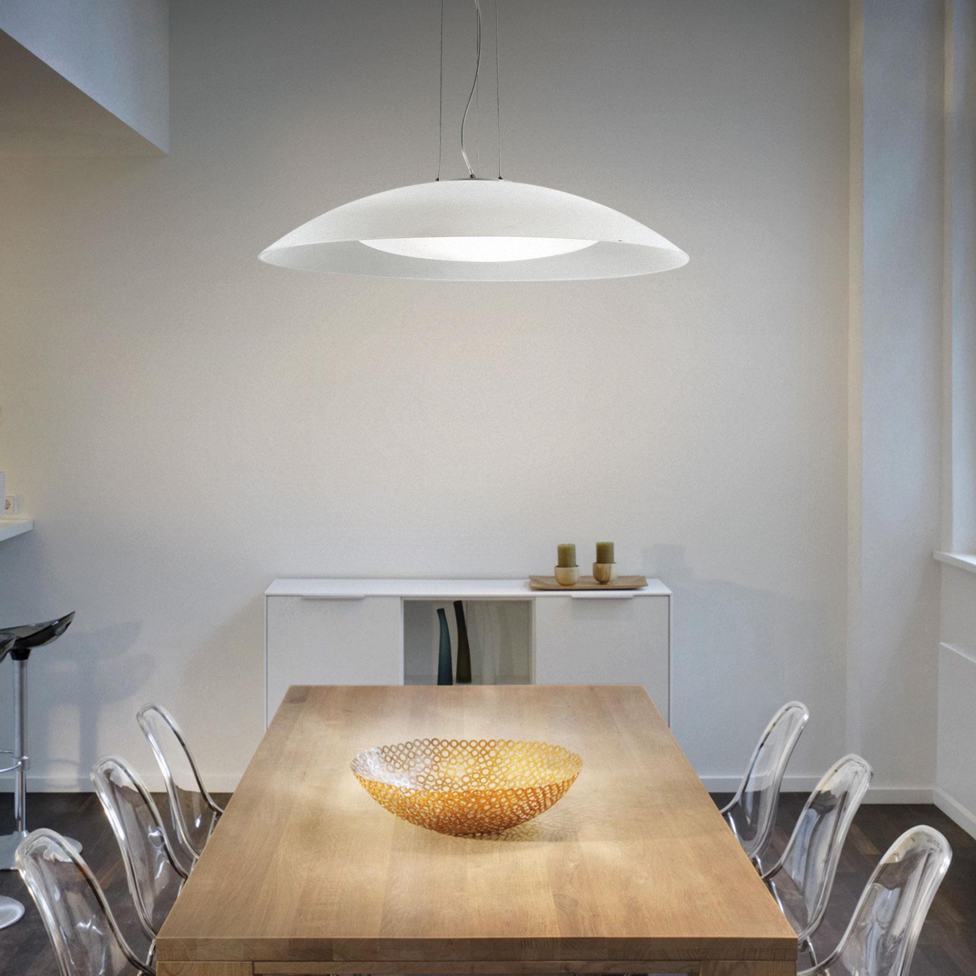 Ideal Lux 052786 Lena SP3 D74 Bianco lámpa függeszték