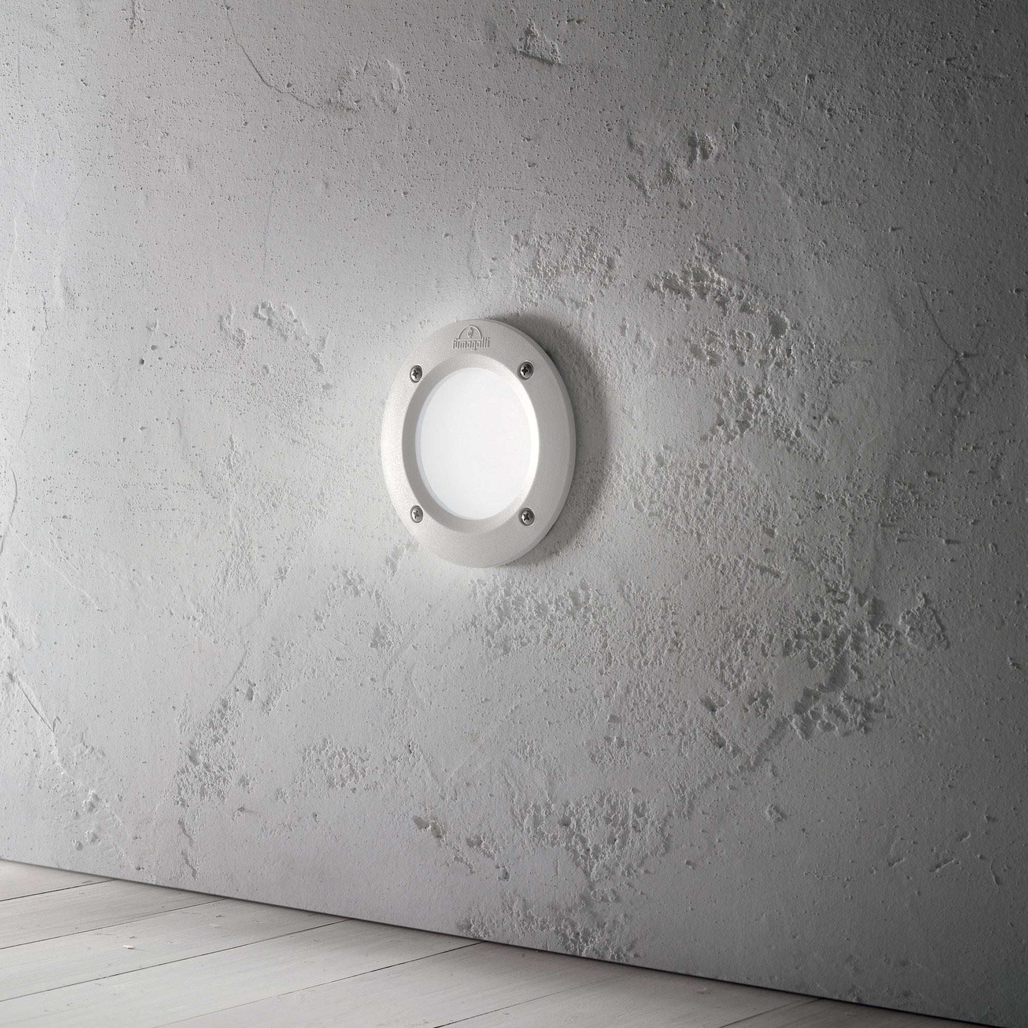 Ideal Lux 096544 Leti PT1 Round Bianco beépíthető kültérilámpa