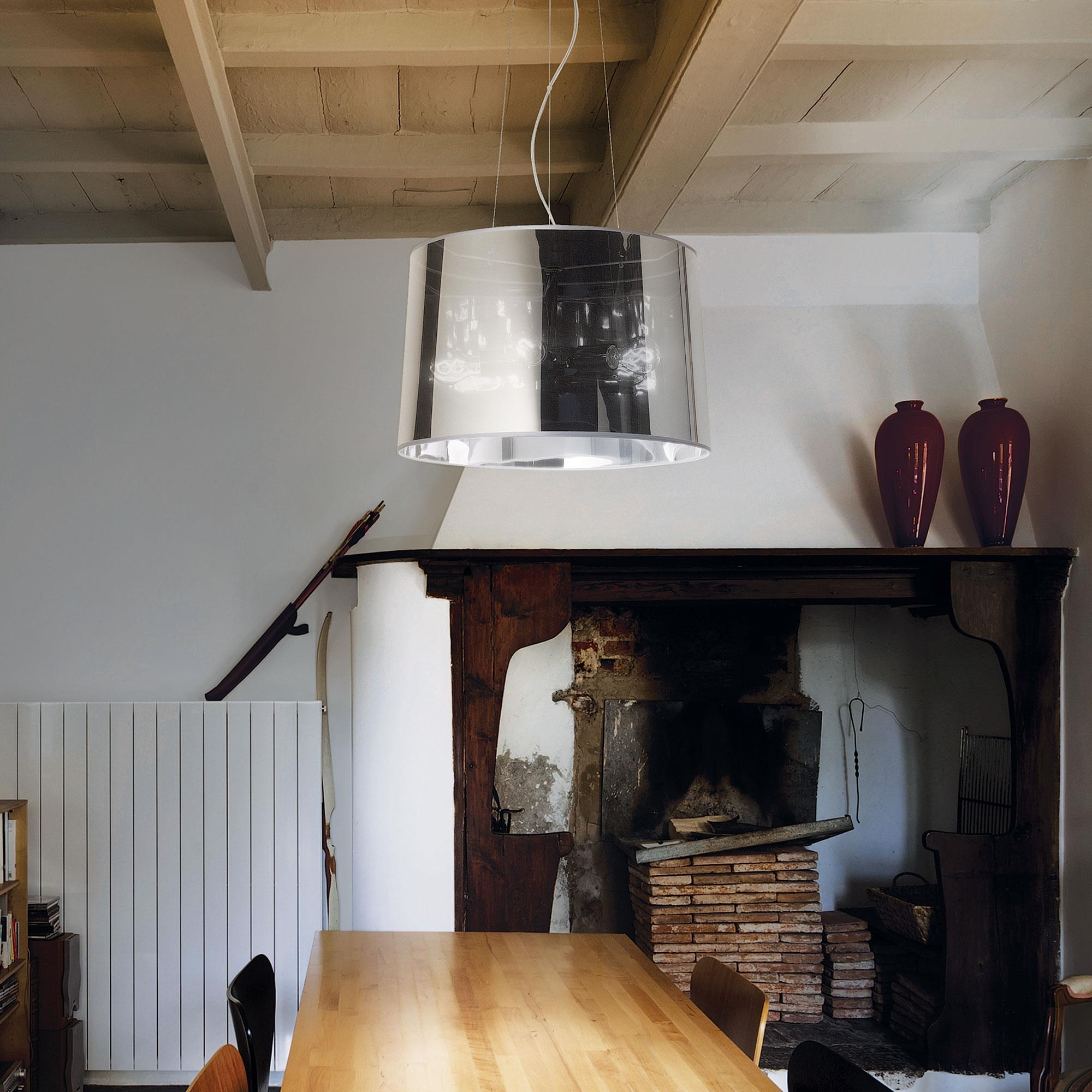 Ideal Lux 032351 London SP5 Cromo lámpa függeszték