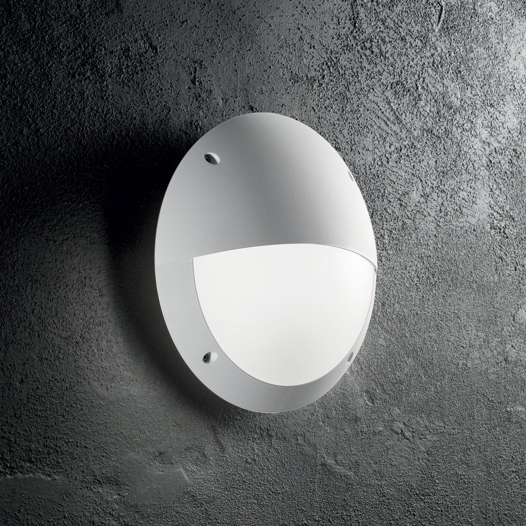 Ideal Lux 096681 Lucia-2 AP1 Bianco kültéri falilámpa