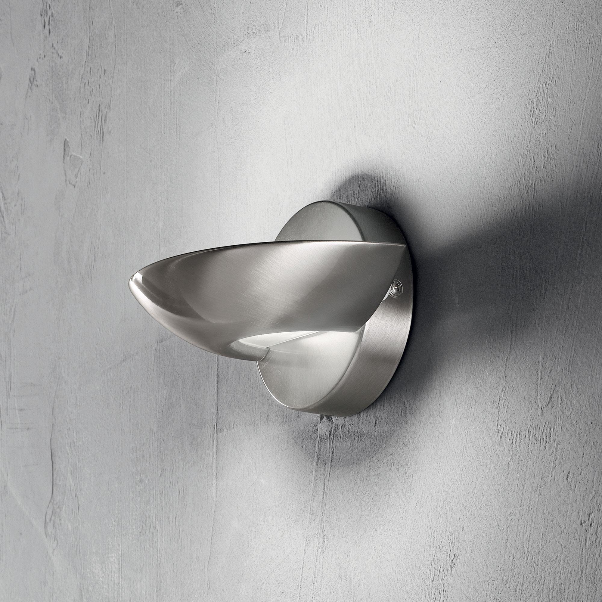 Ideal Lux 002491 Lumina AP1 Nickel falilámpa