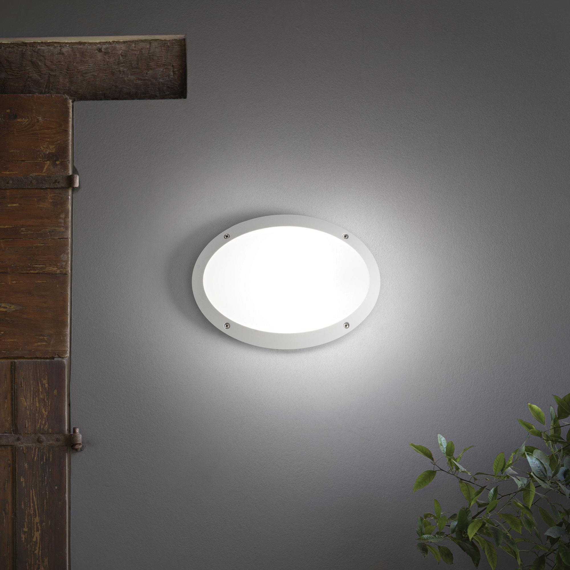 Ideal Lux 096711 Maddi-1 AP1 Bianco kültéri falilámpa