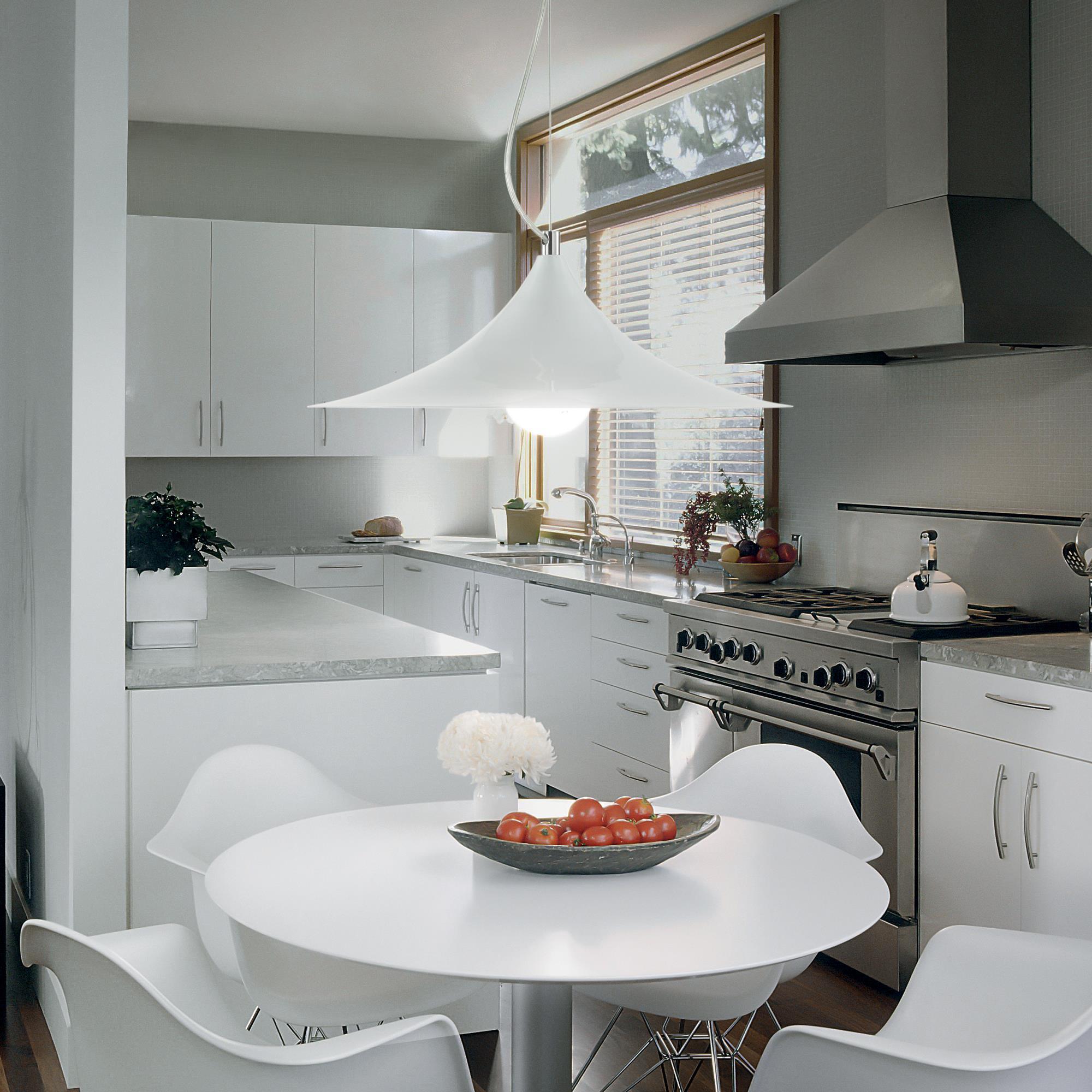 Ideal Lux 087276 Mandarin SP1 Bianco lámpa függeszték