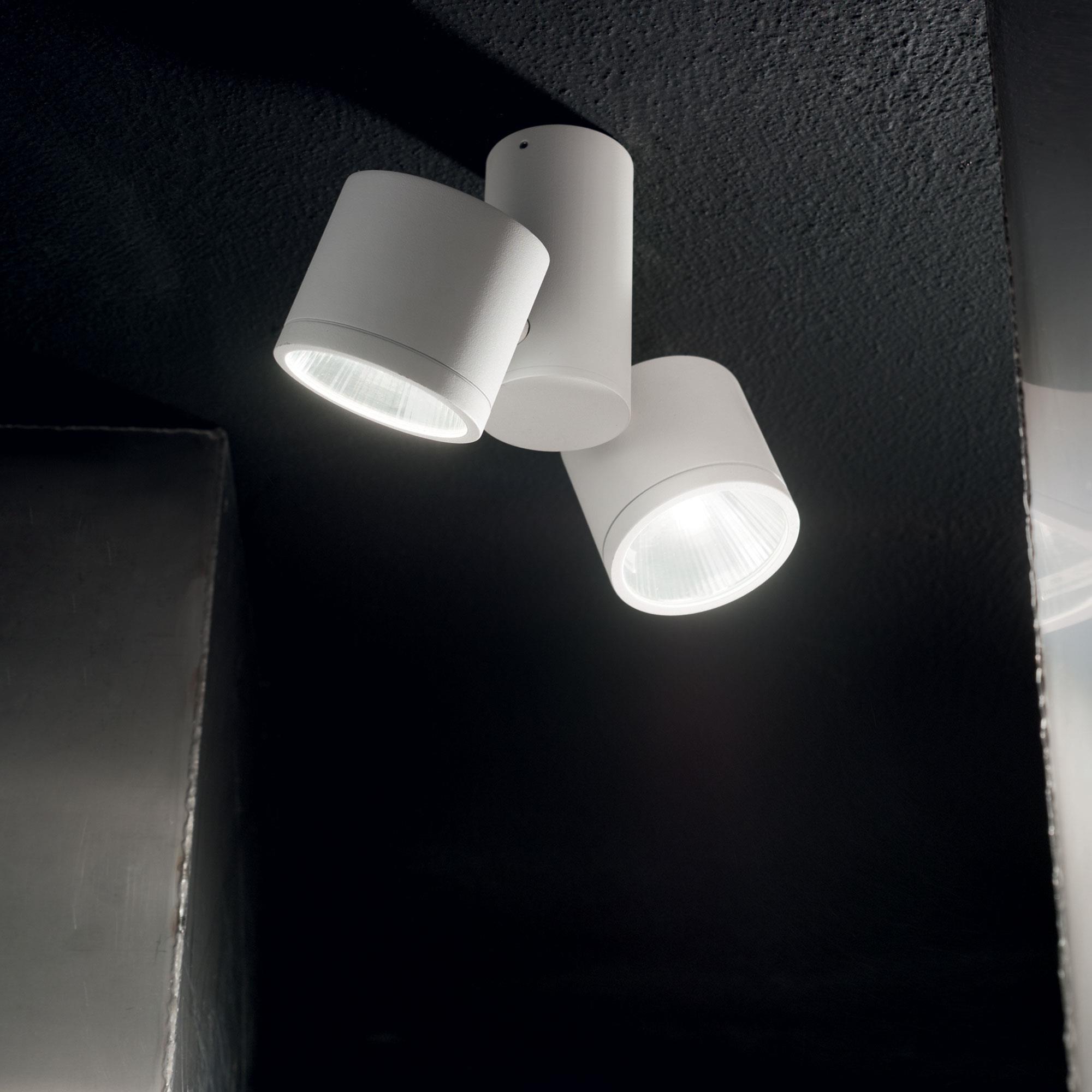 Ideal Lux 161853 SUNGLASSES PL2 BIANCO LED kültéri mennyezeti lámpa