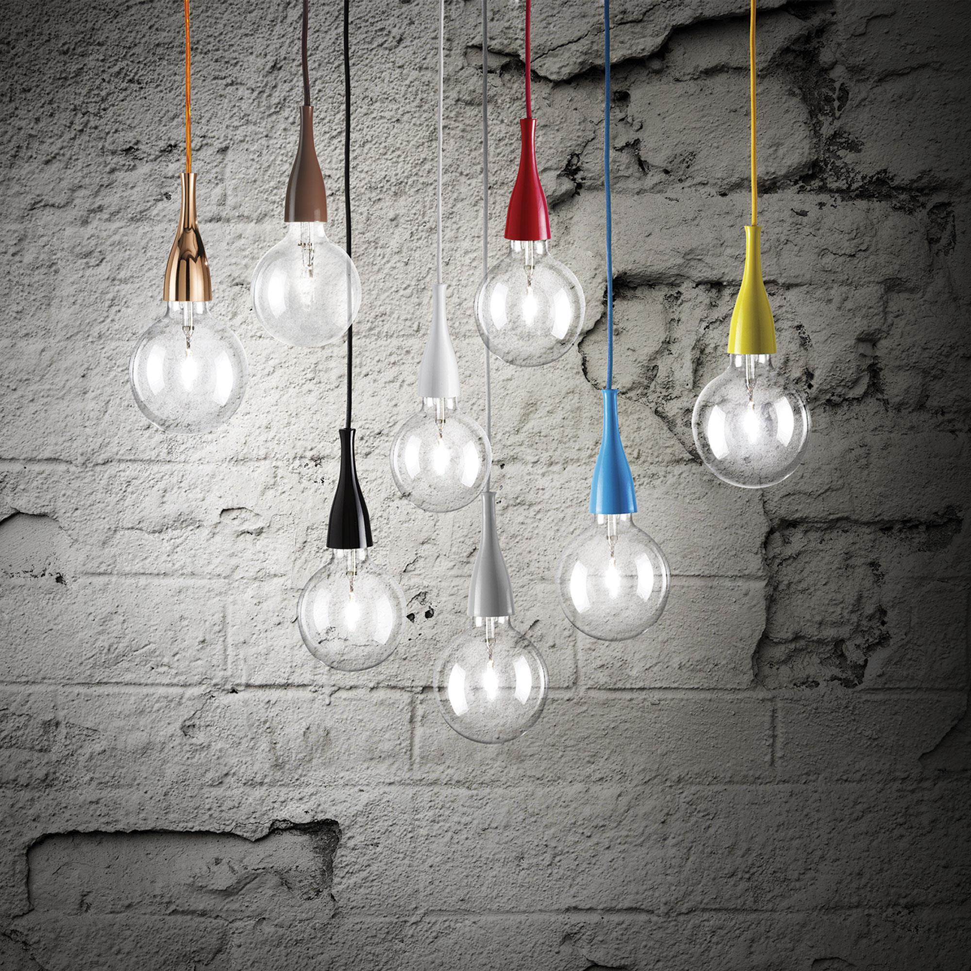 Ideal Lux 009414 Minimal SP1 Rosso lámpa függeszték