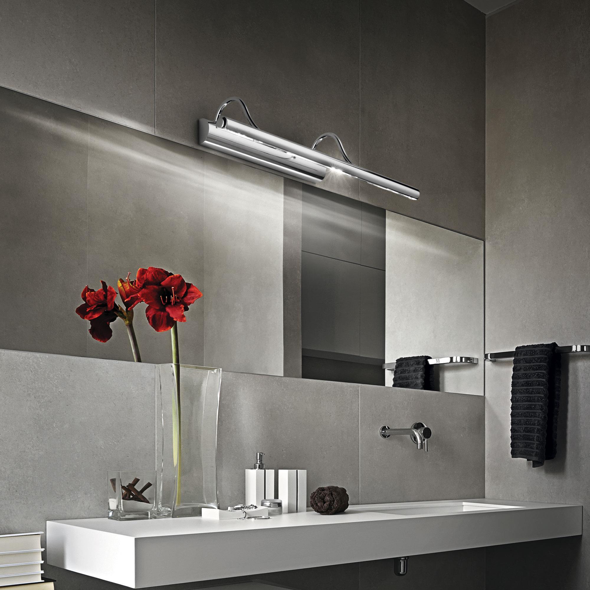 Ideal Lux 017303 Mirror-10 AP4 Cromo képmegvilágító lámpa