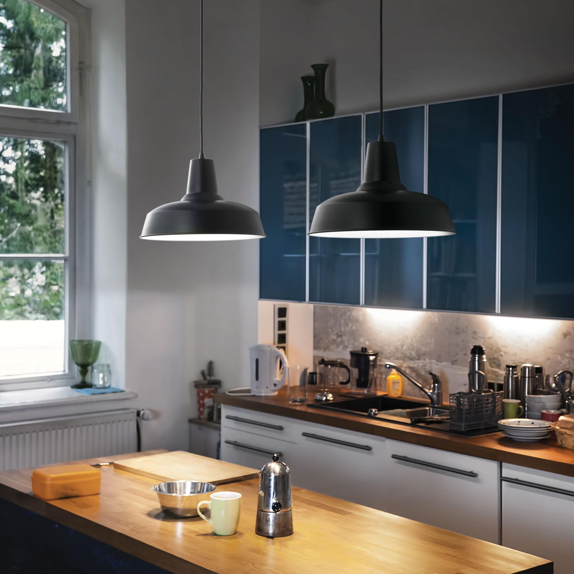 Ideal Lux 093659 Moby SP1 Nero lámpa függeszték