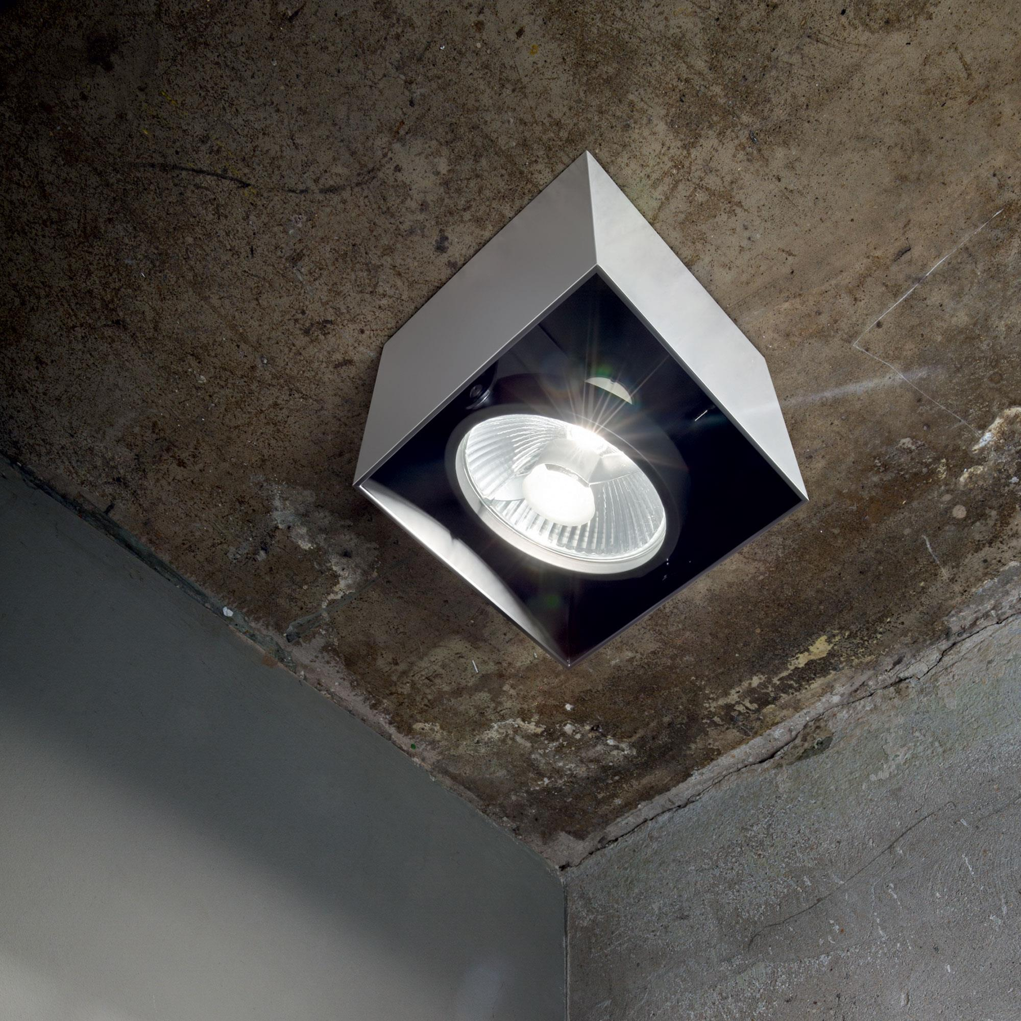 Ideal Lux 140957 Mood PL1 Big Square Aluminio spot lámpa