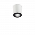 Ideal Lux 140841 MOOD PL1 SMALL ROUND BIANCO spot lámpa