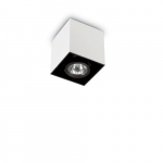 Ideal Lux 140902 MOOD PL1 SMALL SQUARE BIANCO spot lámpa