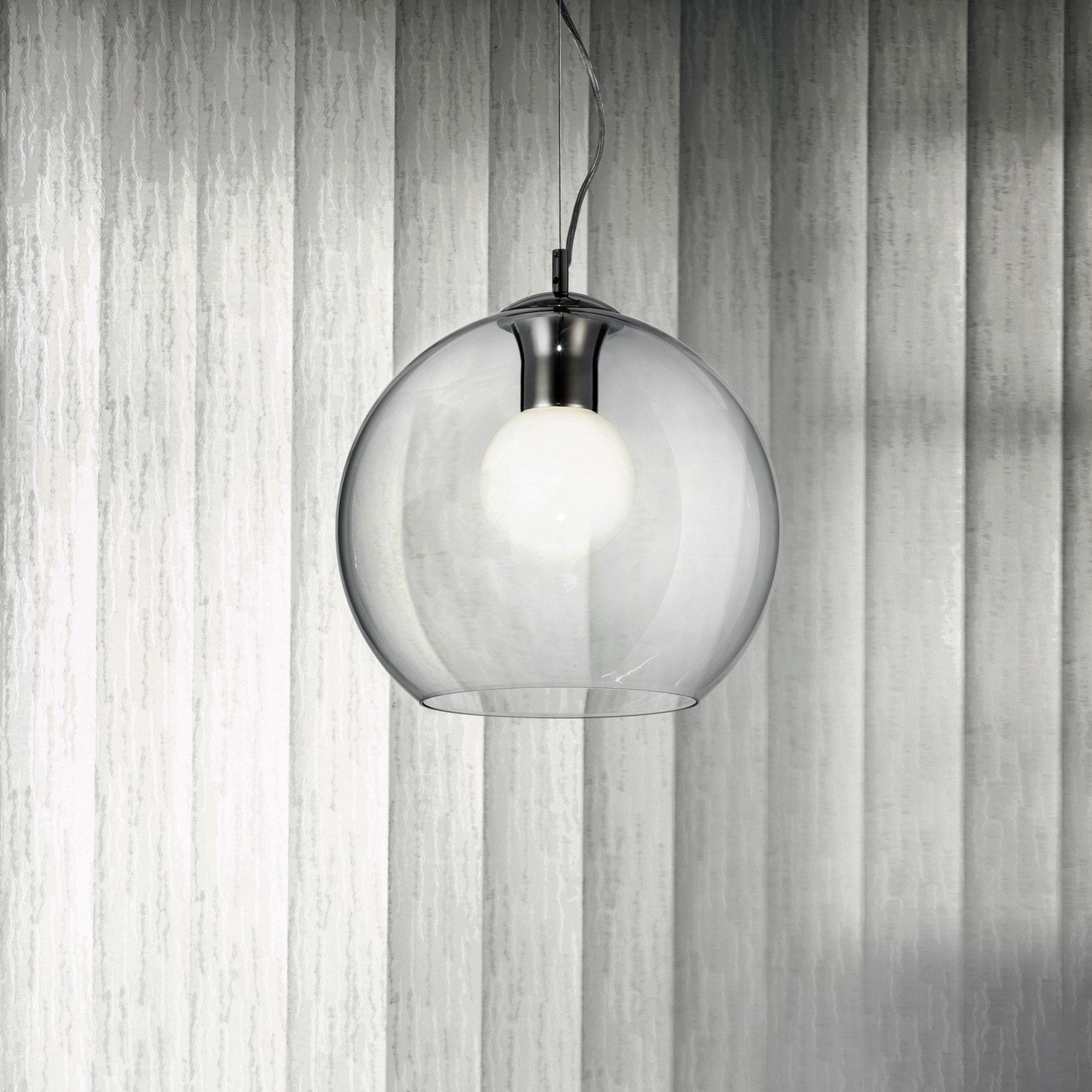 Ideal Lux 052809 Nemo SP1 D30 Clear lámpa függeszték