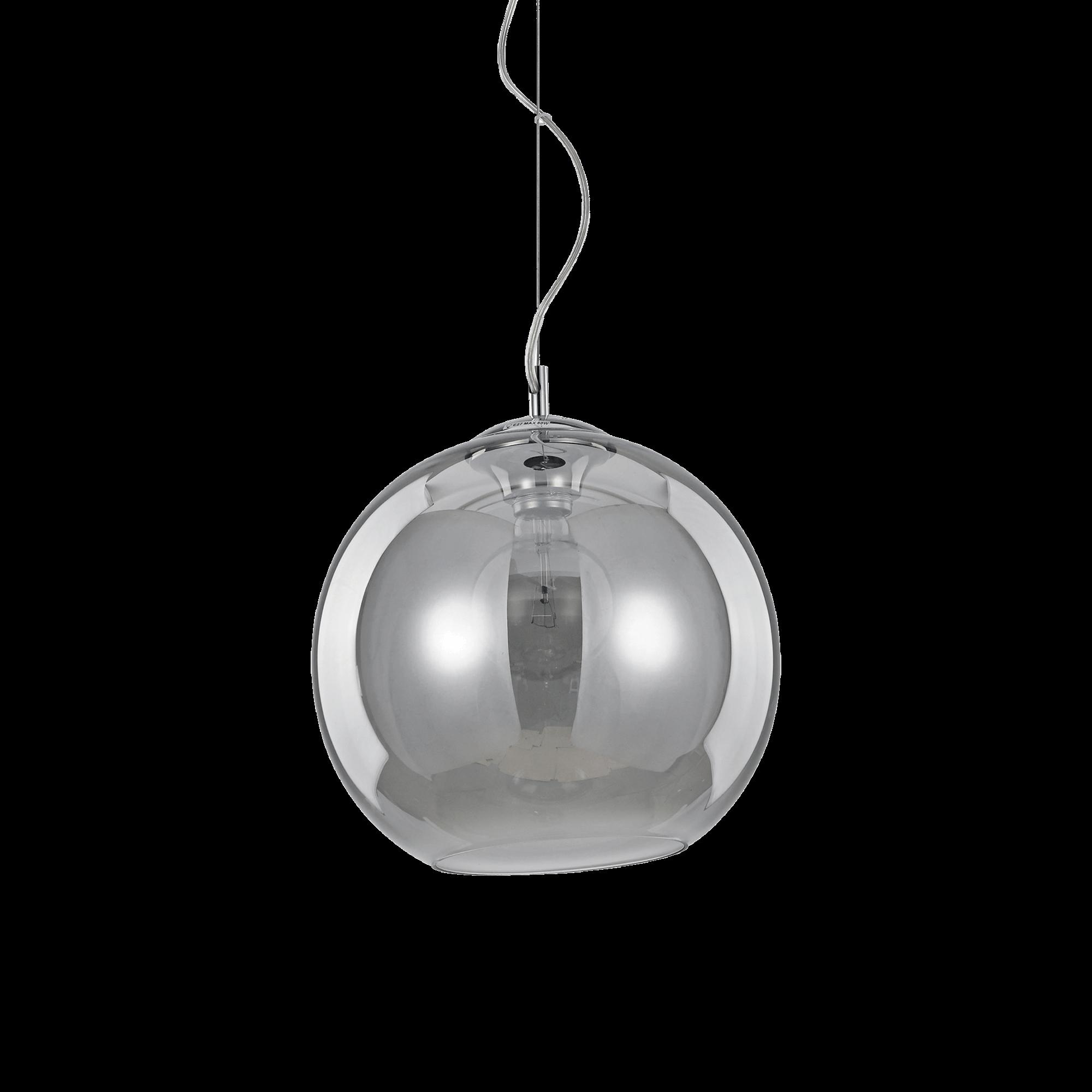 Ideal Lux 094236 Nemo SP1 D30 Fumé lámpa függeszték