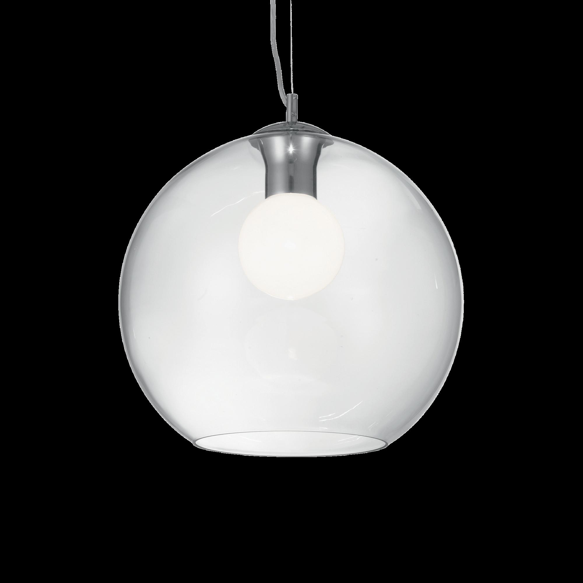 Ideal Lux 052816 Nemo SP1 D40 Clear lámpa függeszték