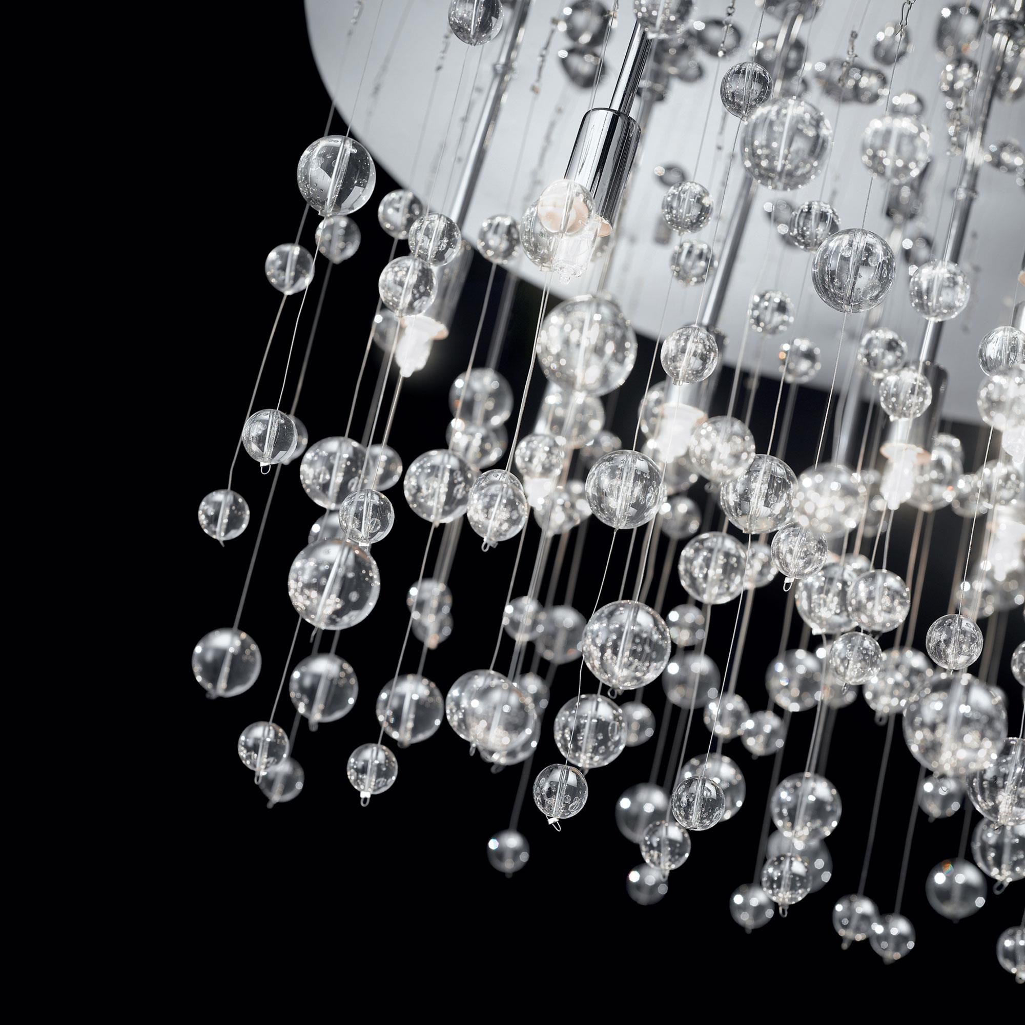 Ideal Lux 022222 Neve PL8 Cromo mennyezeti lámpa