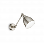 Ideal Lux 016399 Newton AP1 Nickel falilámpa