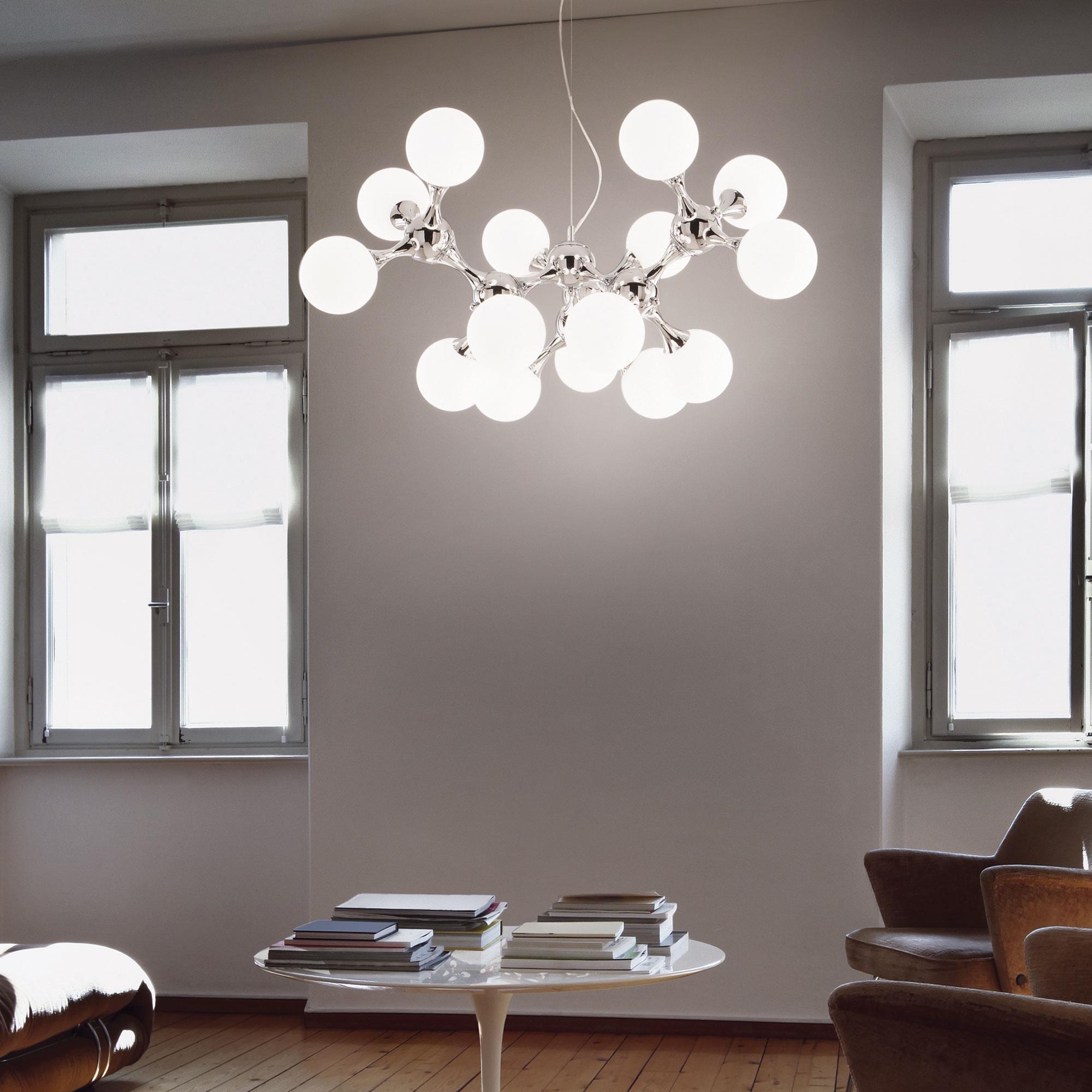 Ideal Lux 082073 Nodi SP15 Bianco lámpa függeszték