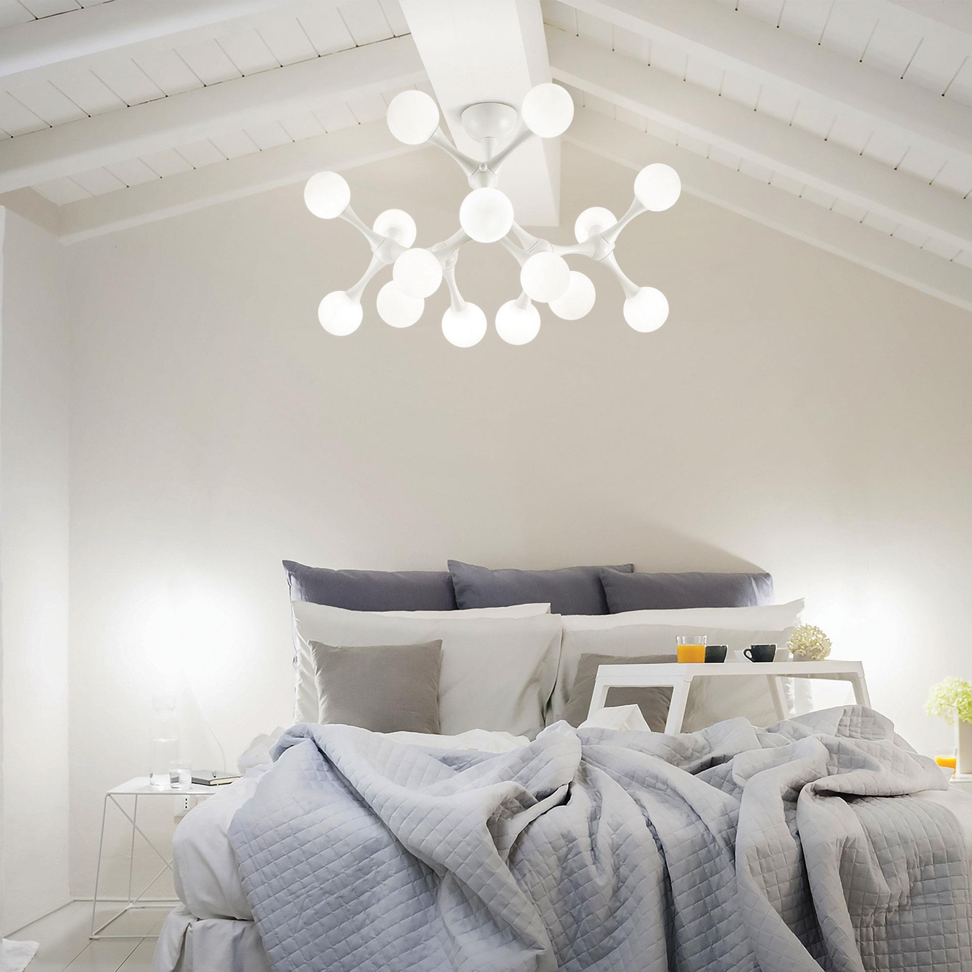 Ideal Lux 149608 NODINO PL15 BIANCO mennyezeti lámpa