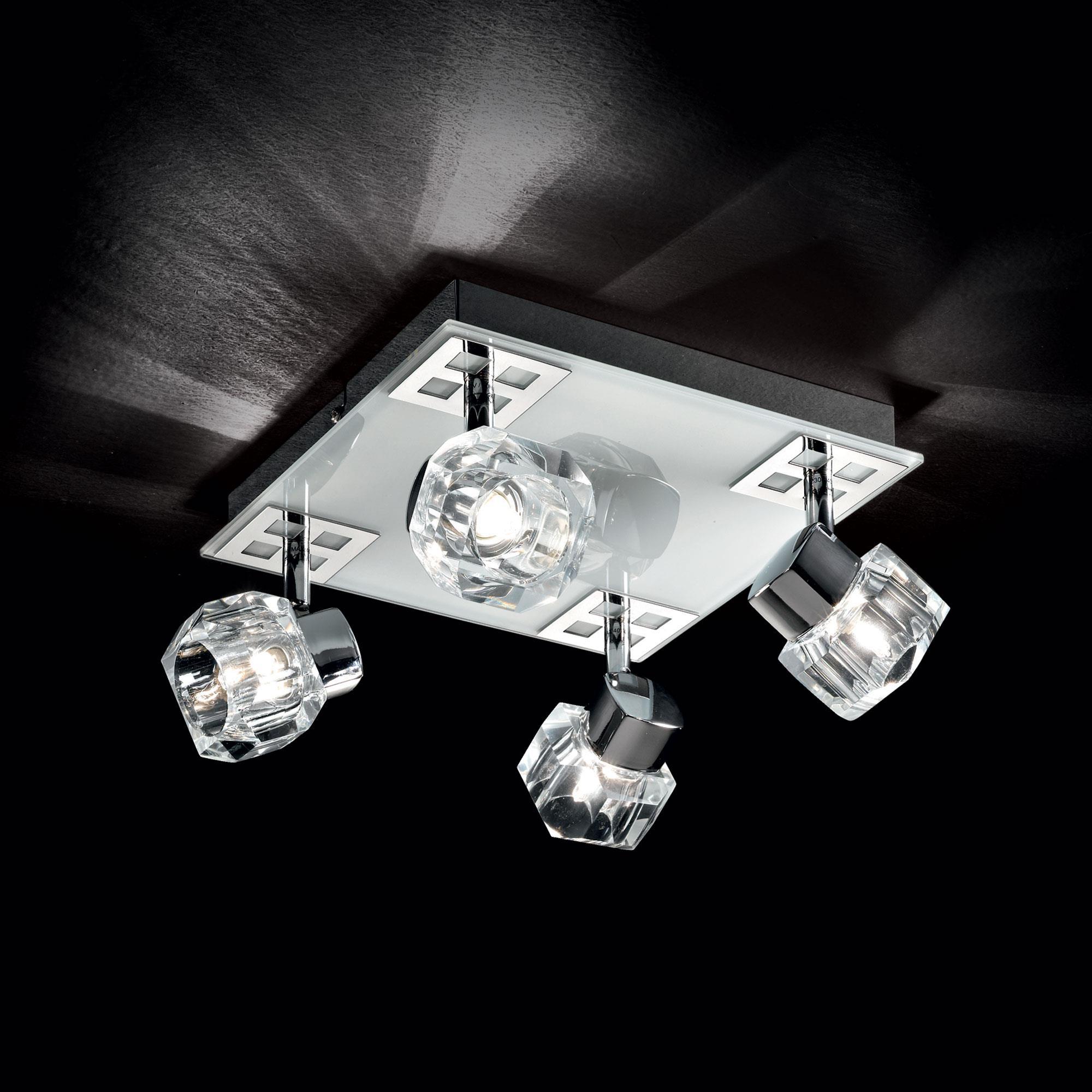 Ideal Lux 077963 Nostalgia PL4 mennyezeti lámpa