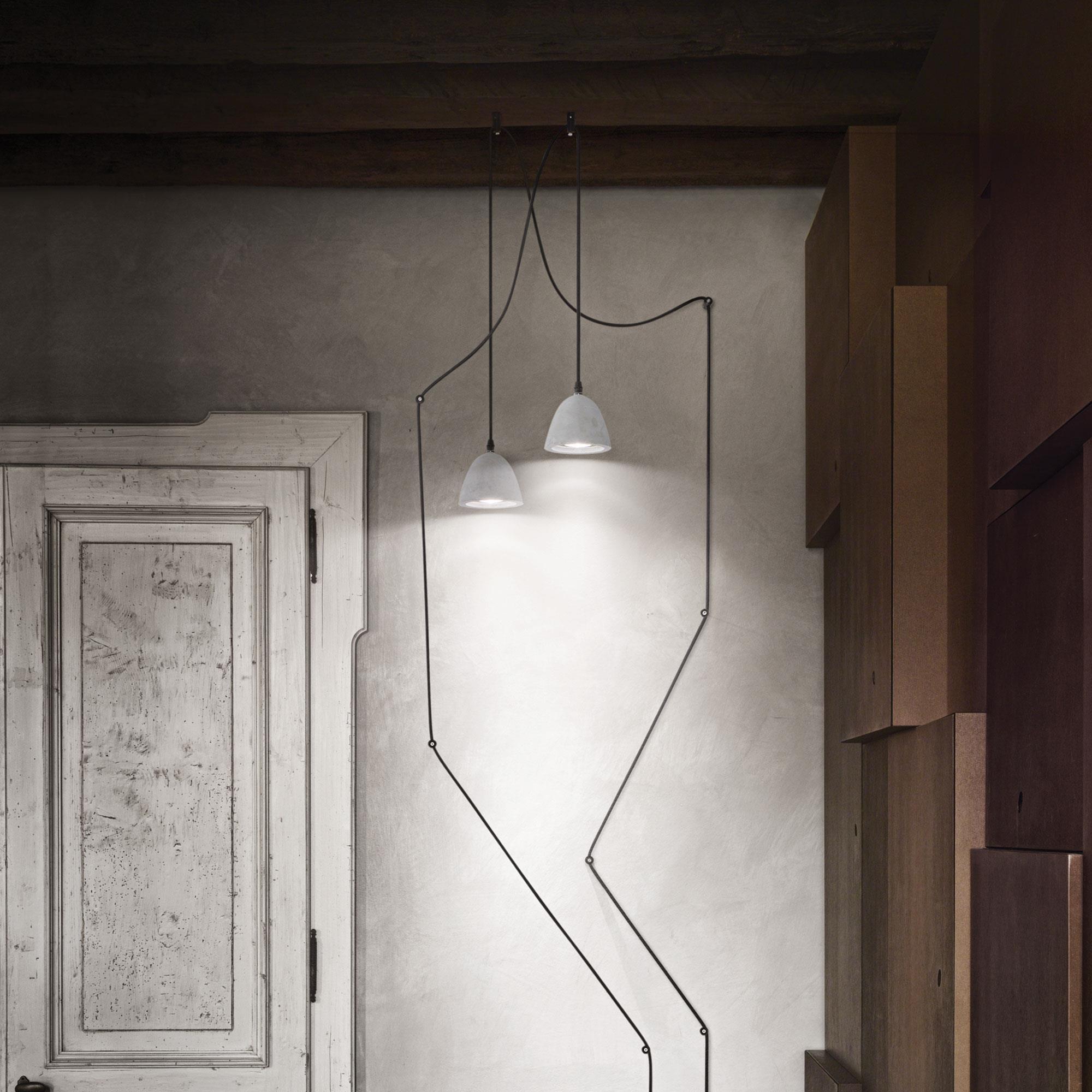 Ideal Lux 110462 Oil-4 SP1 Cemento lámpa függeszték