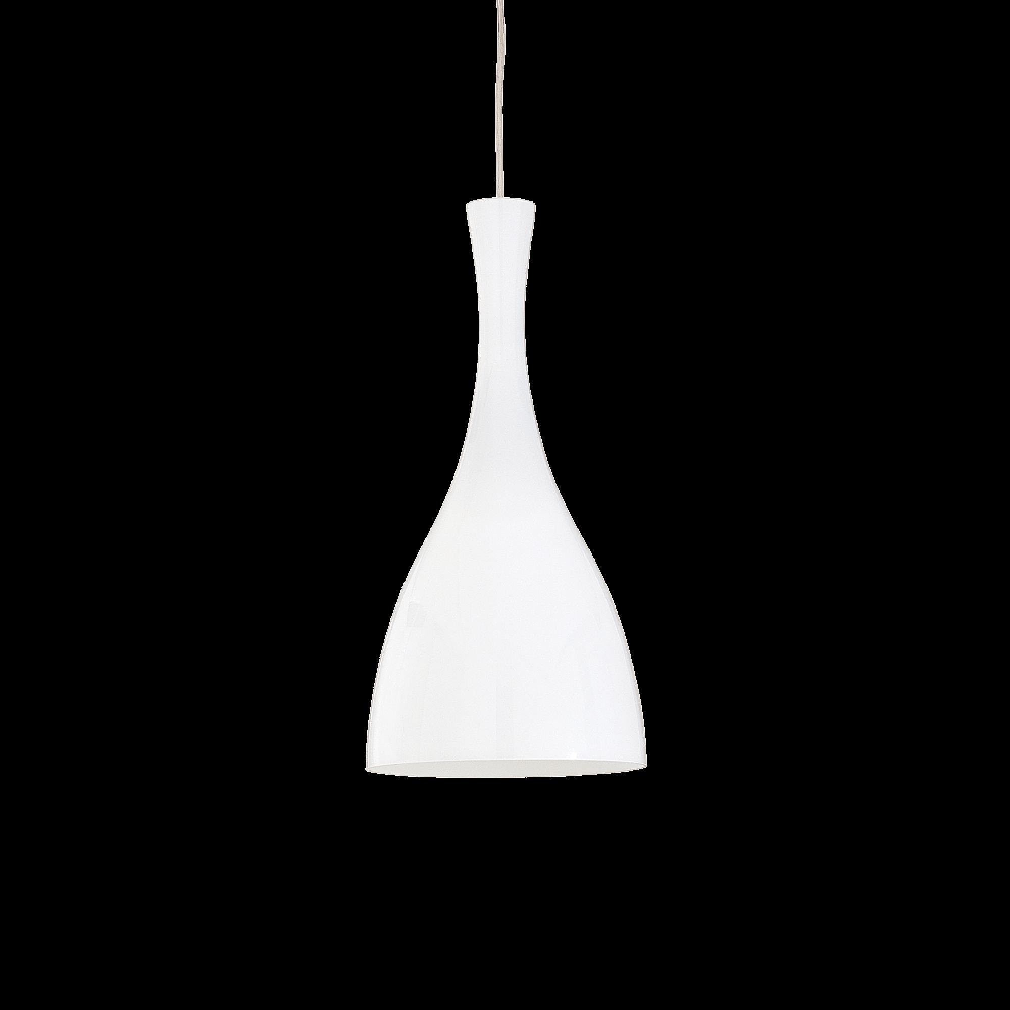 Ideal Lux 013244 Olimpia SP1 Bianco lámpa függeszték