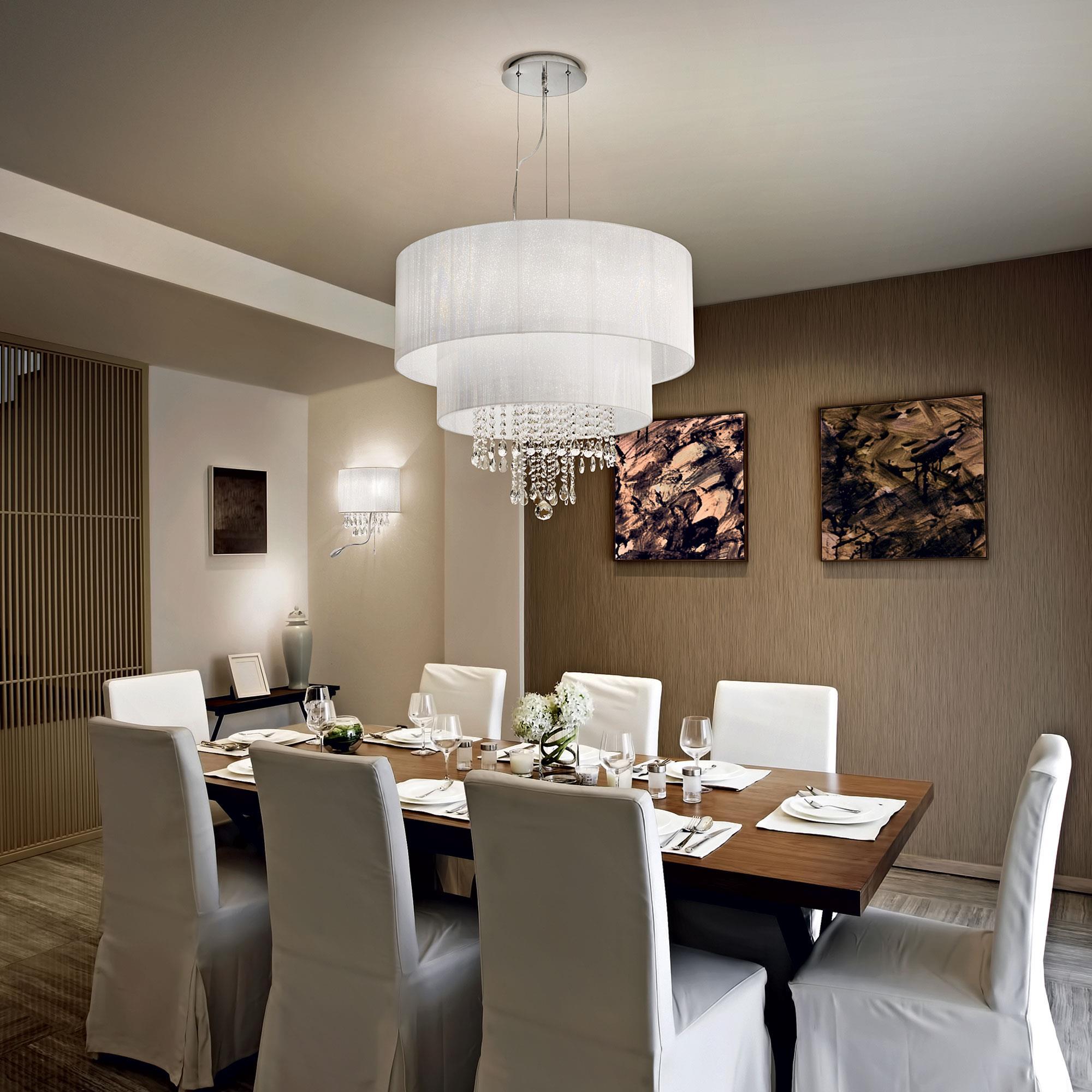 Ideal Lux 068299 Opera SP6 Bianco lámpa függeszték
