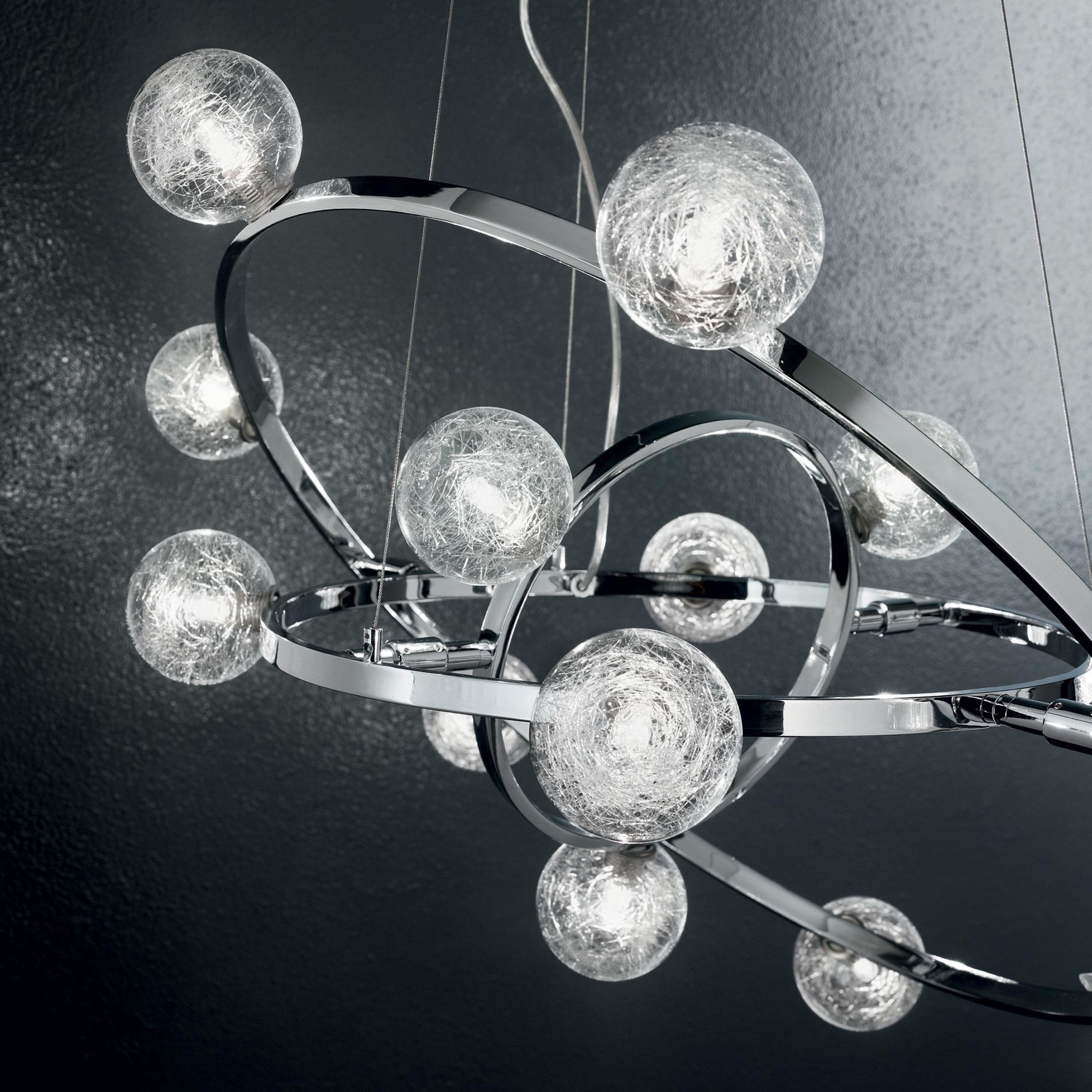 Ideal Lux 073835 Orbital SP14 lámpa függeszték