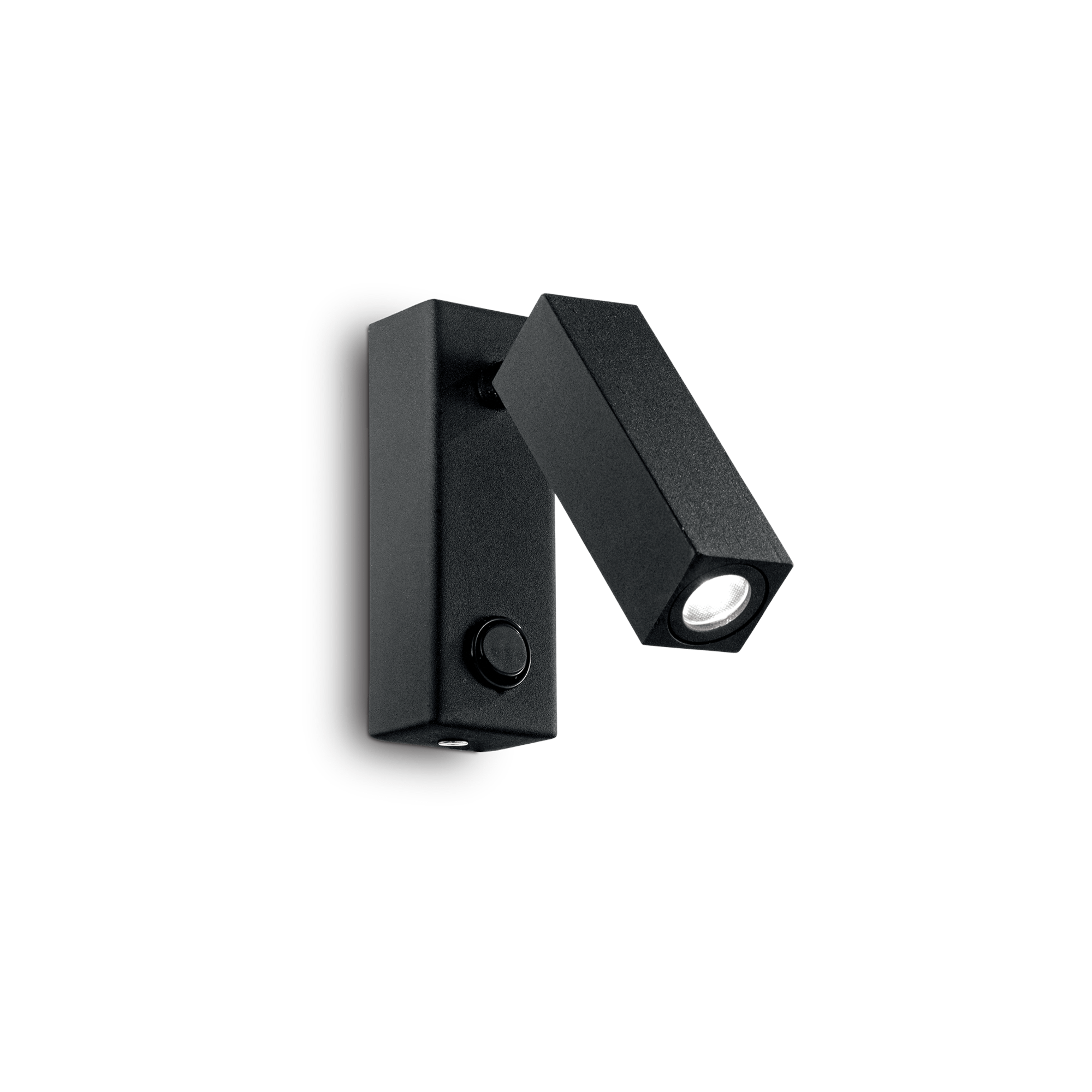 Ideal Lux 142241 PAGE AP1 SQUARE NERO LED falilámpa