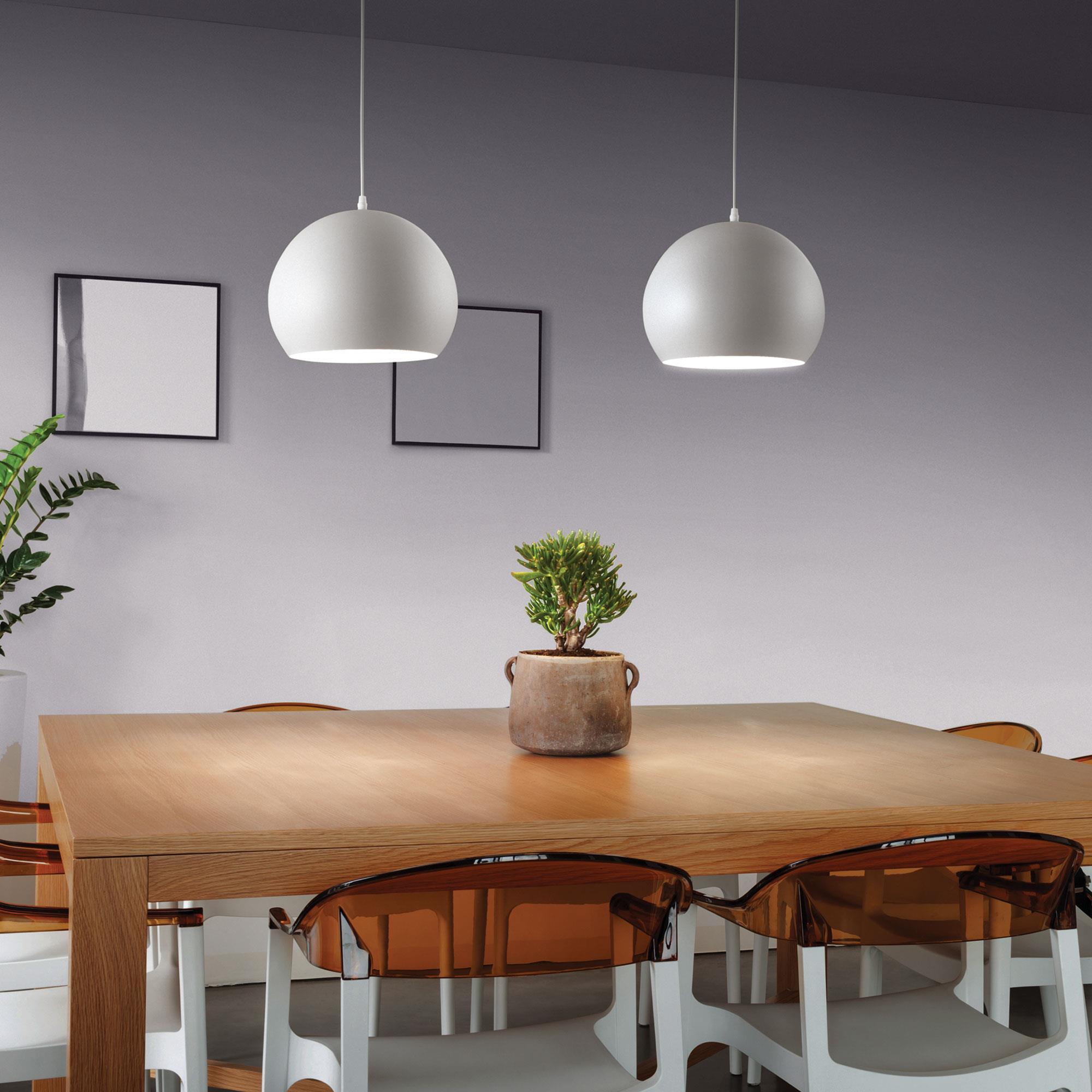 Ideal Lux 005218 Pandora SP1 D25 Bianco lámpa függeszték