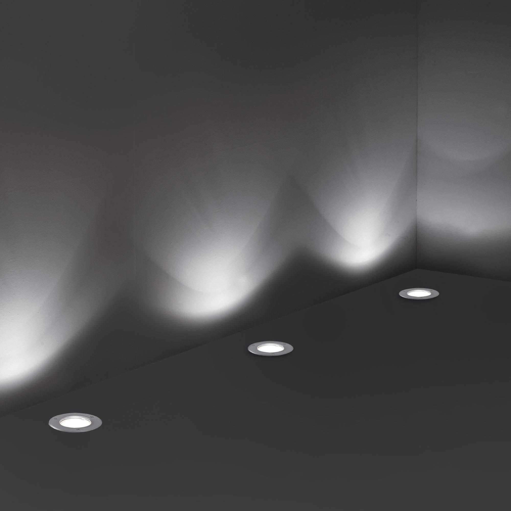 Ideal Lux 032825 Park PT1 Round Medium kültéri talajba építhető lámpa