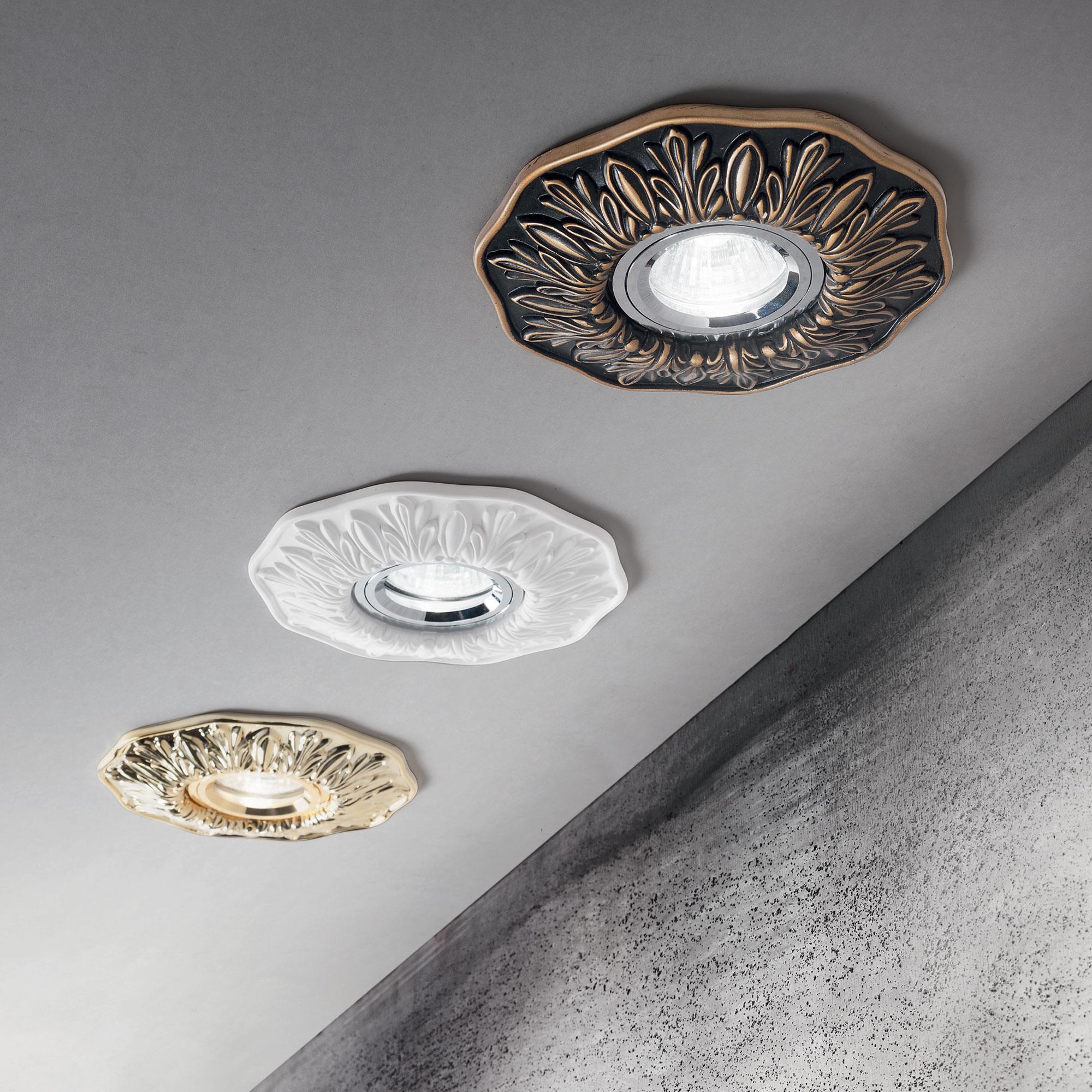 Ideal Lux 115610 Polka FL1 Ottone spot beépíthető lámpa