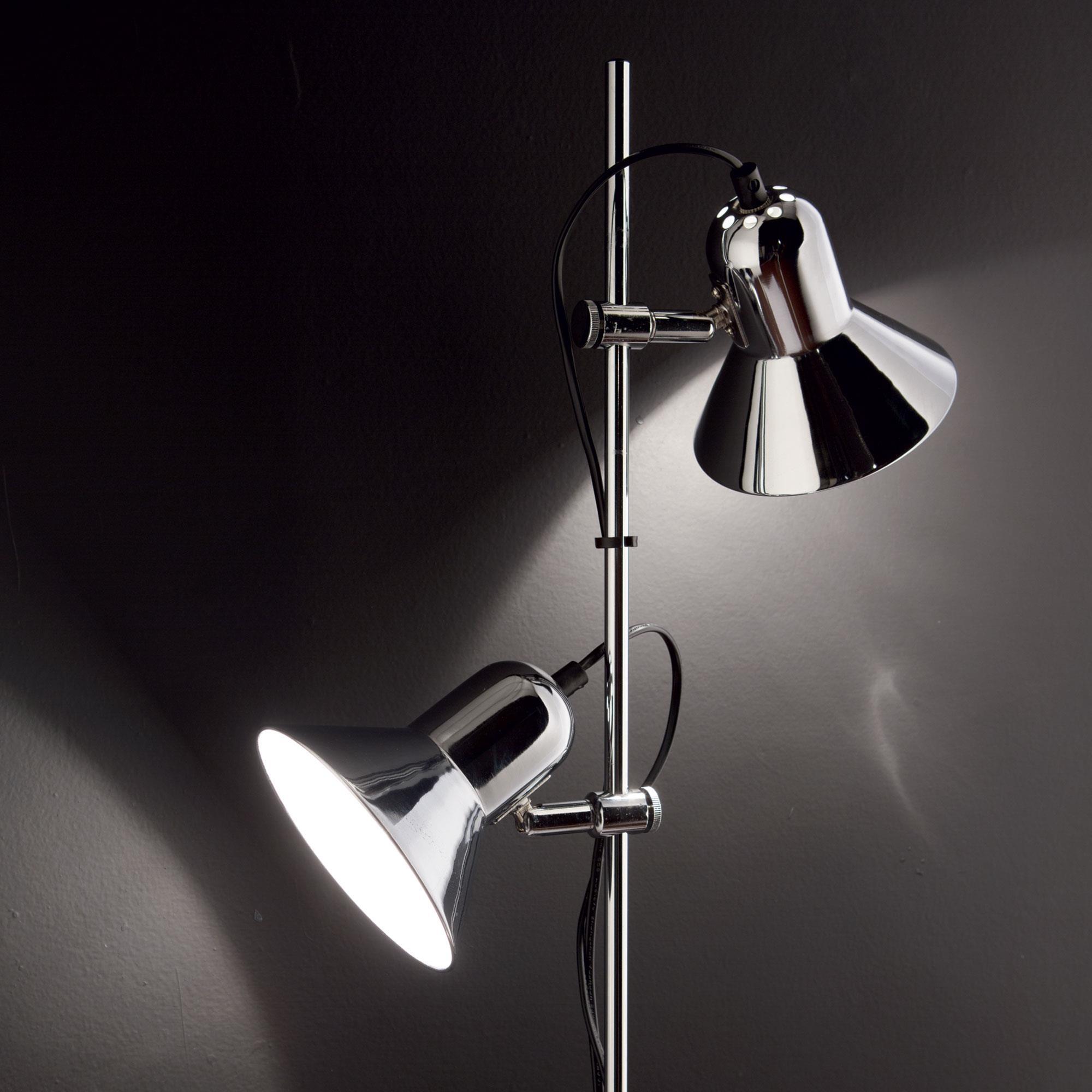 Ideal Lux 061122 Polly PT2 Cromo olvasó állólámpa