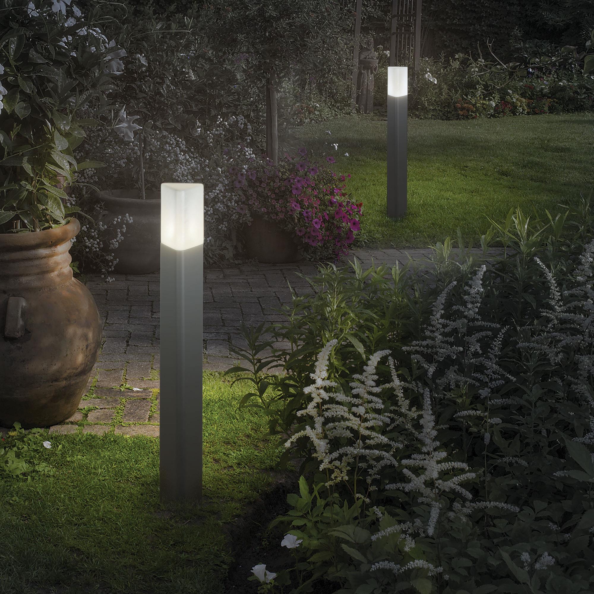 Ideal Lux 135908 PULSAR PT1 ANTRACITE kültéri állólámpa