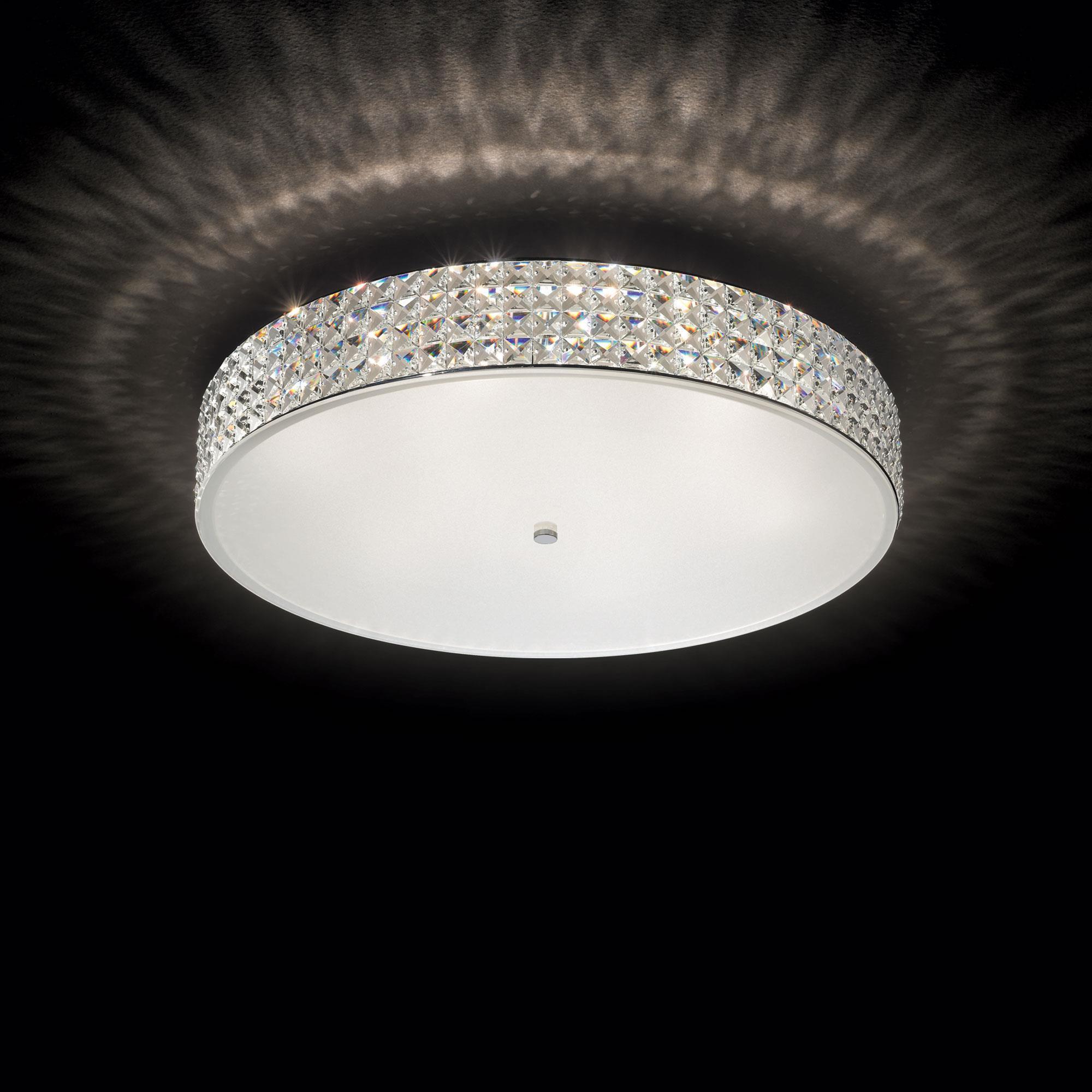 Ideal Lux 087870 Roma PL12 kristály mennyezeti lámpa