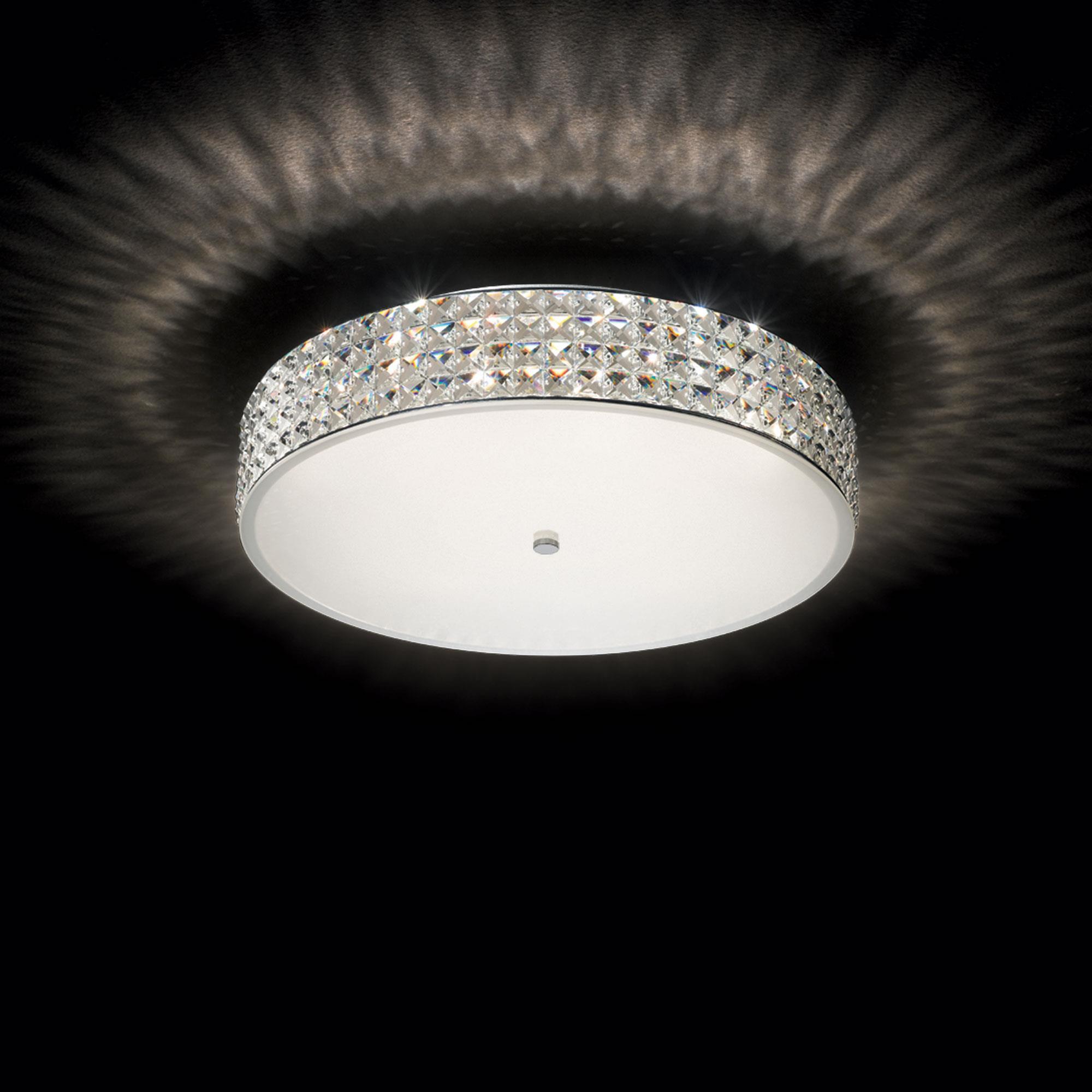 Ideal Lux 087863 Roma PL9 kristály mennyezeti lámpa