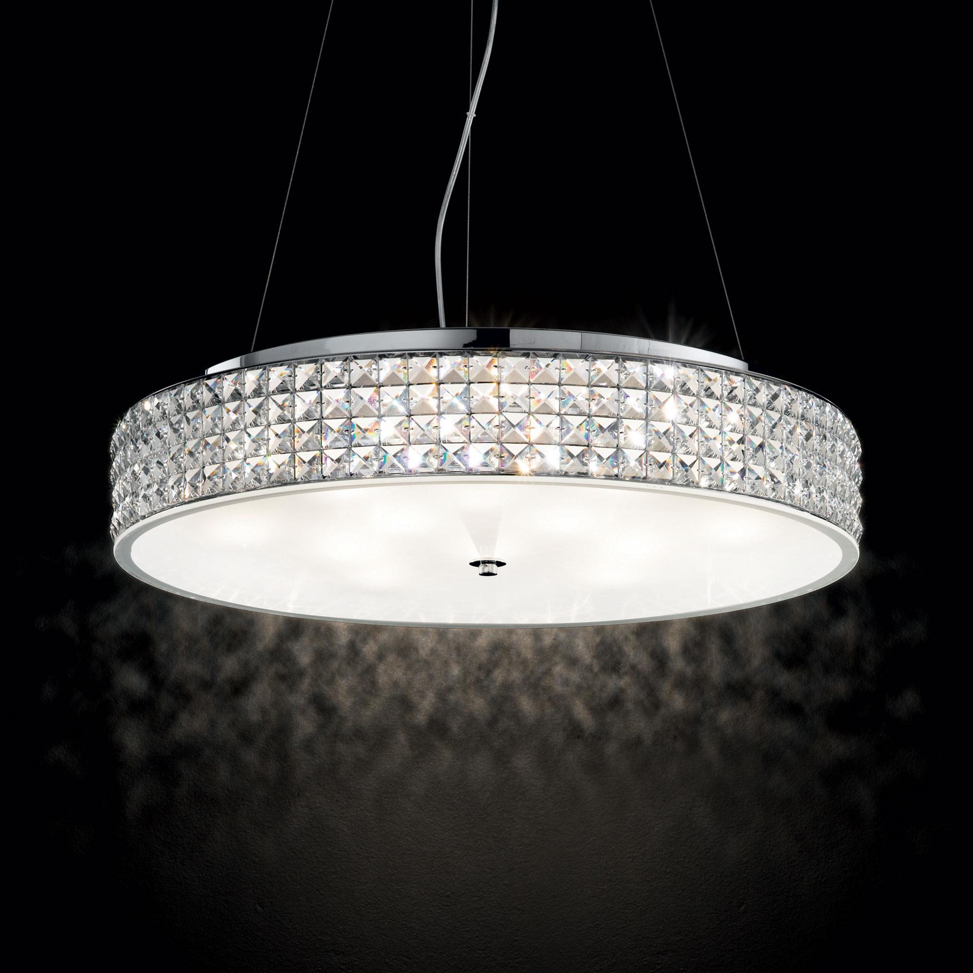 Ideal Lux 093062 Roma SP12 kristály függeszték