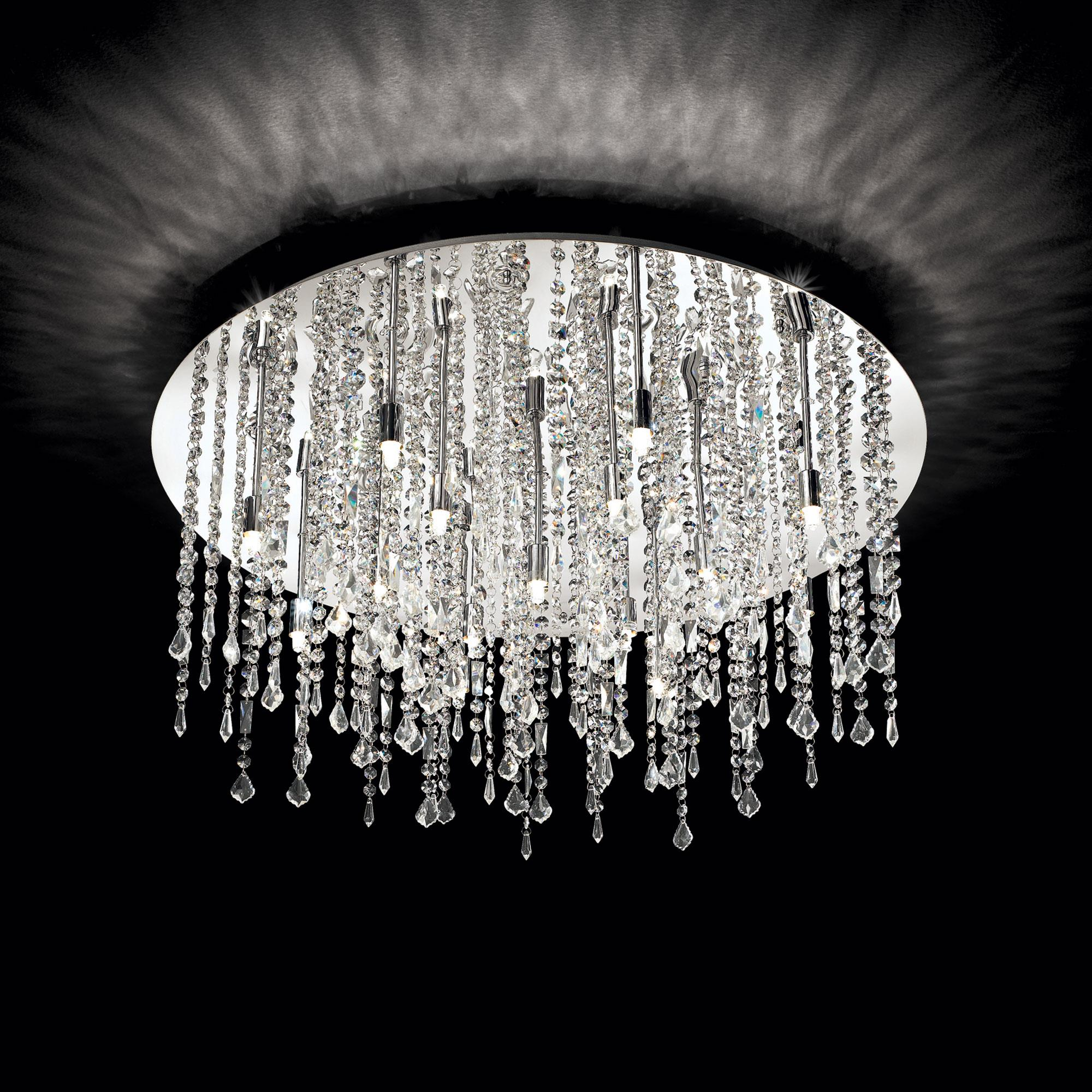 Ideal Lux 053011 Royal PL15 mennyezeti kristály lámpa