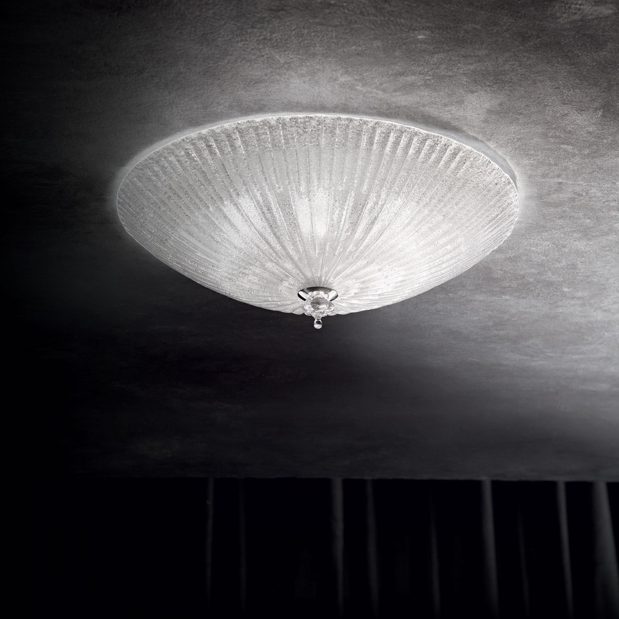 Ideal Lux 008615 Shell PL4 Trasparente mennyezeti lámpa