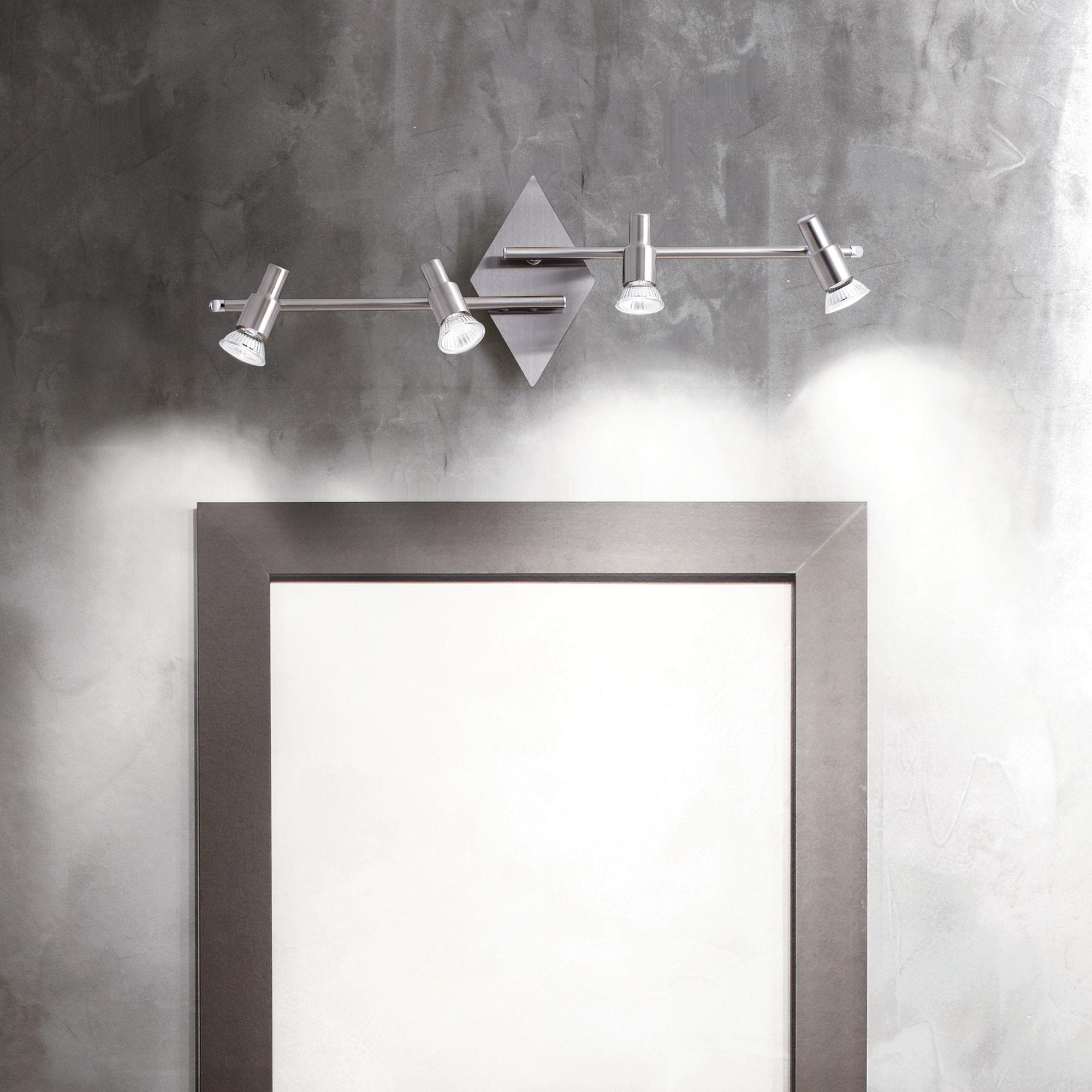 Ideal Lux 018850 Slem PL4 Nickel  fali / mennyezeti lámpa
