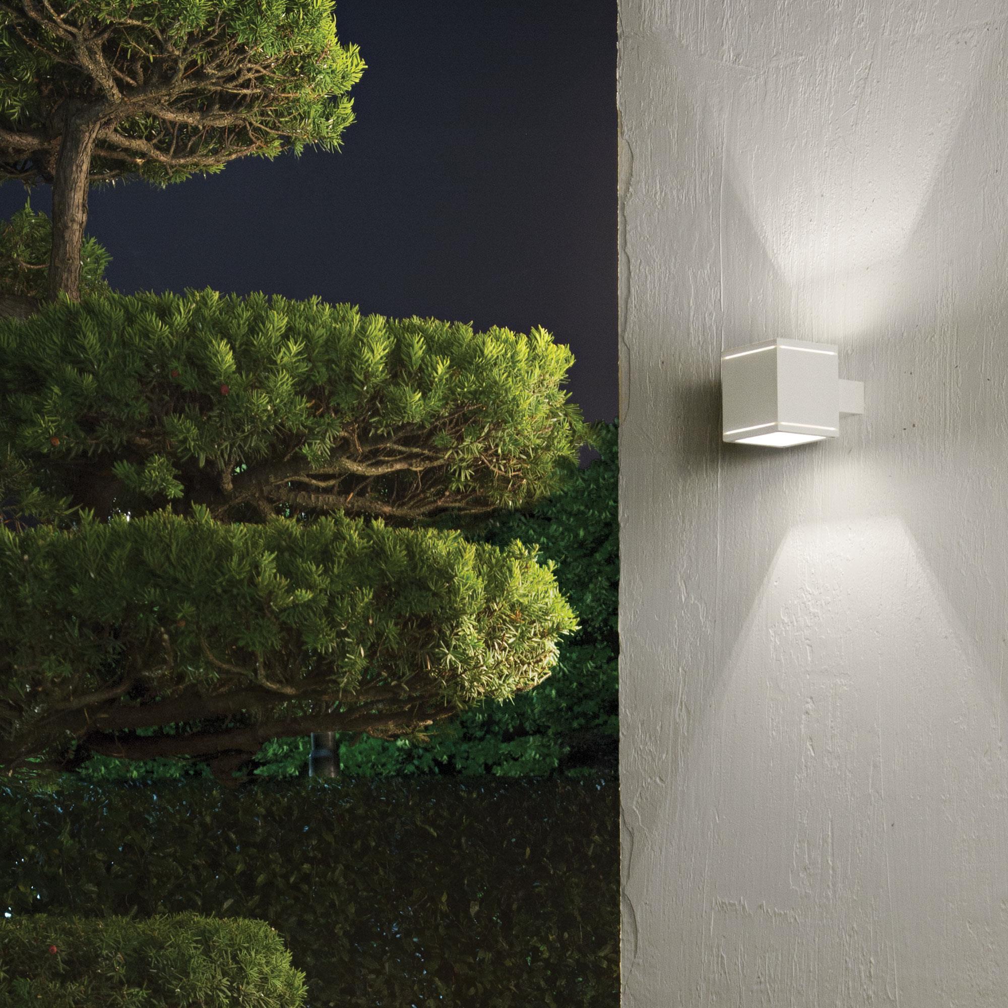 Ideal Lux 144276 Snif AP1 Square Bianco kültéri falilámpa