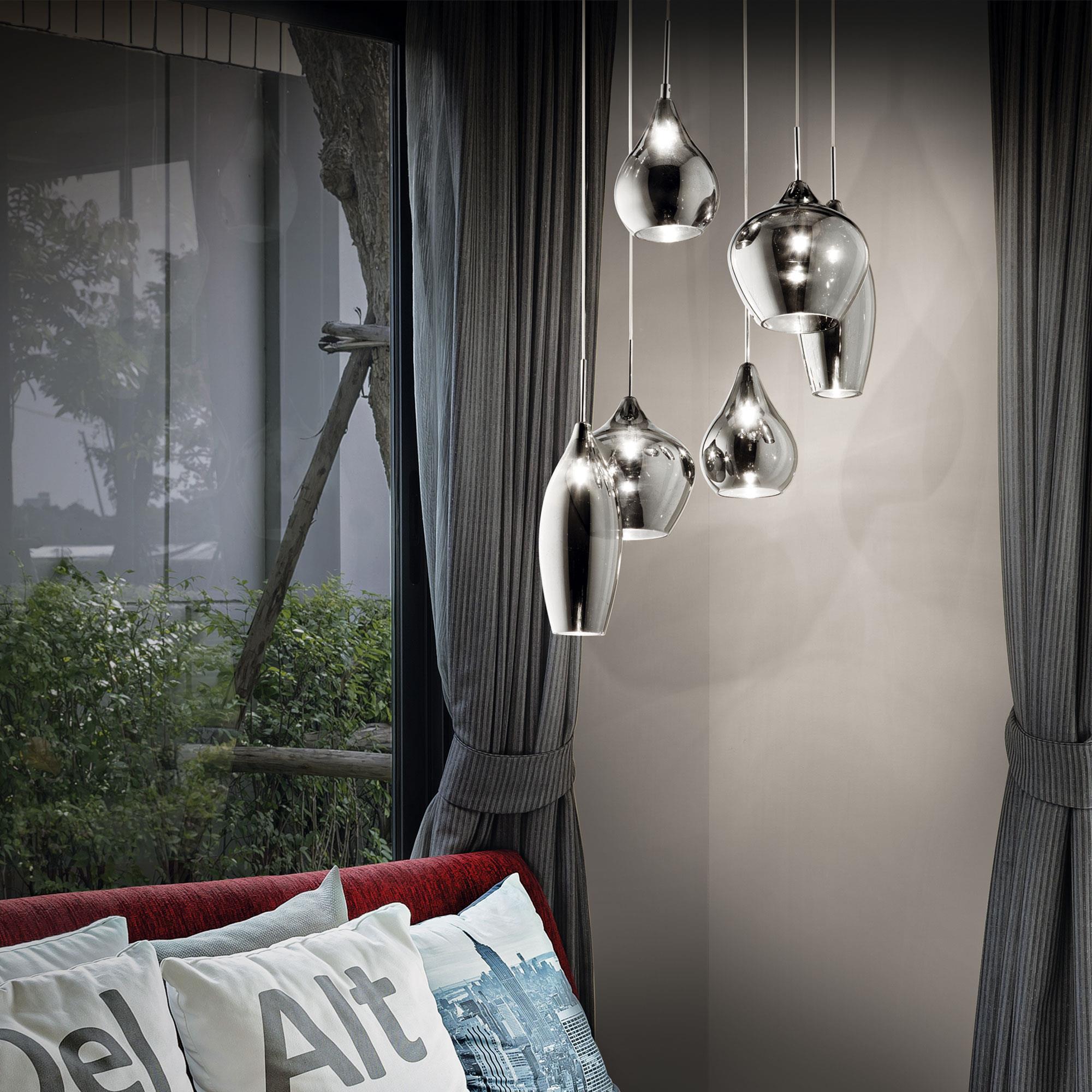 Ideal Lux 111841 Soft SP6 Fume lámpa függeszték