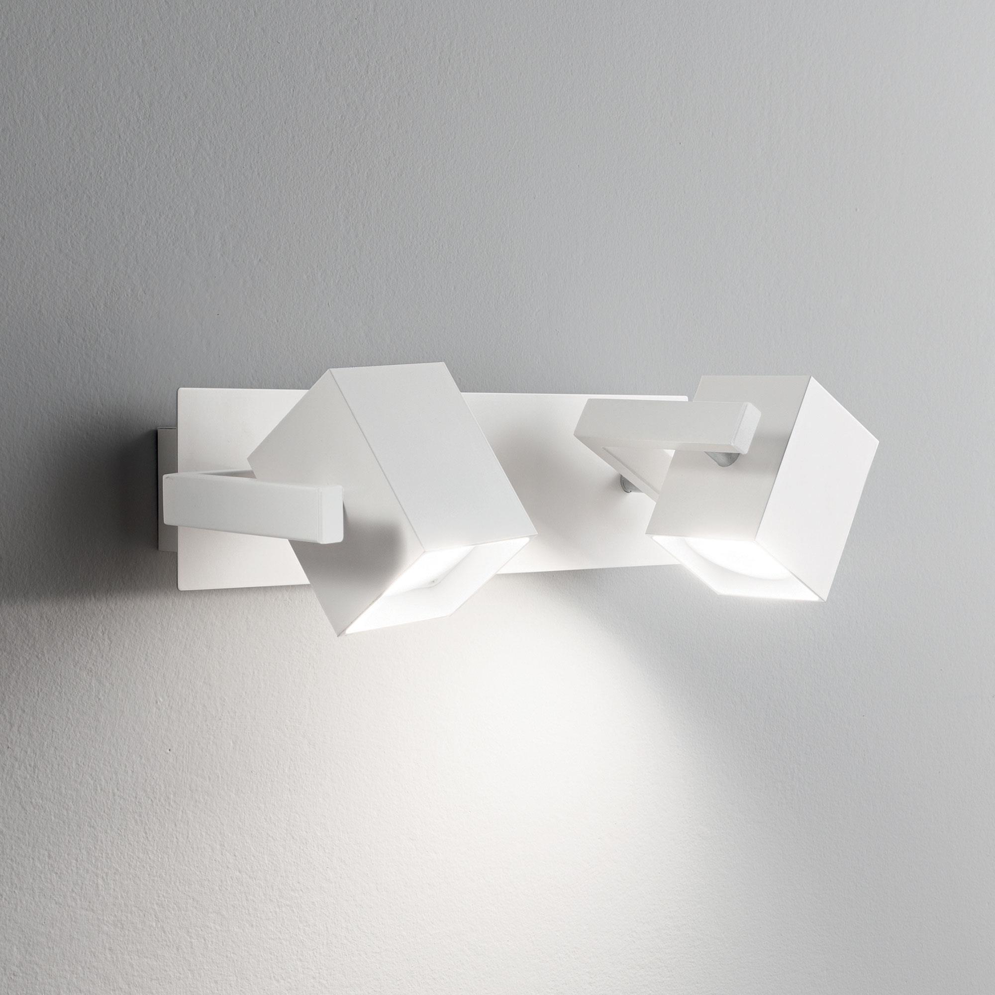 Ideal Lux 073545 MOUSE AP2 BIANCO spot fali lámpa
