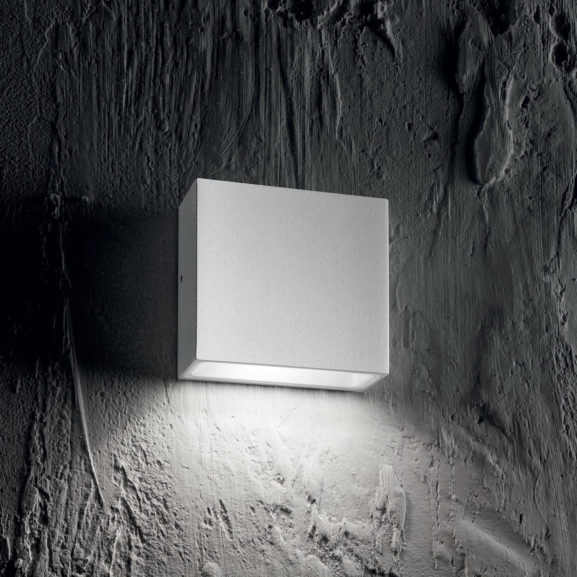 Ideal Lux 114293 Tetris-1 AP1 Bianco kültéri falilámpa