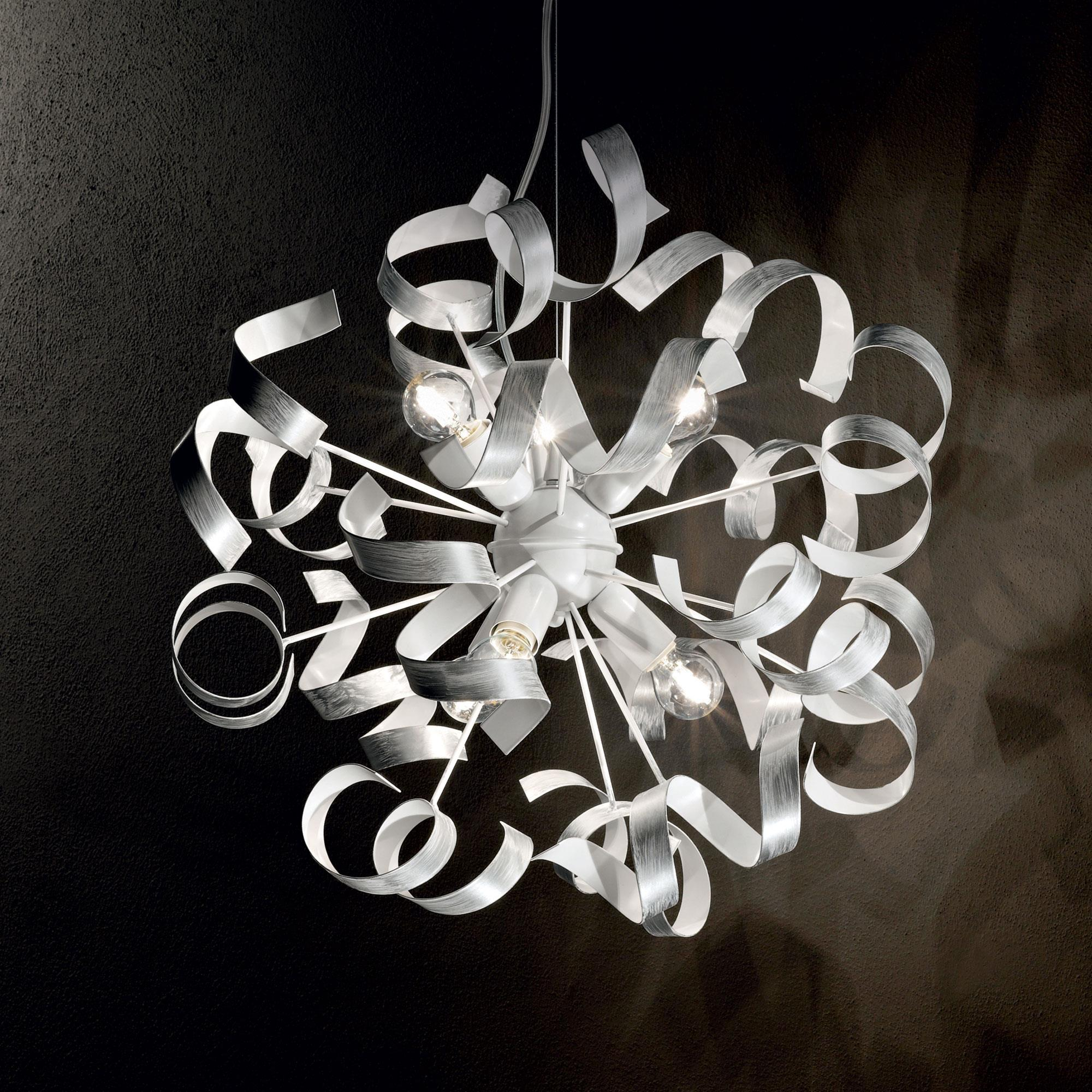 Ideal Lux 101613 Vortex SP6 Argento lámpa függeszték