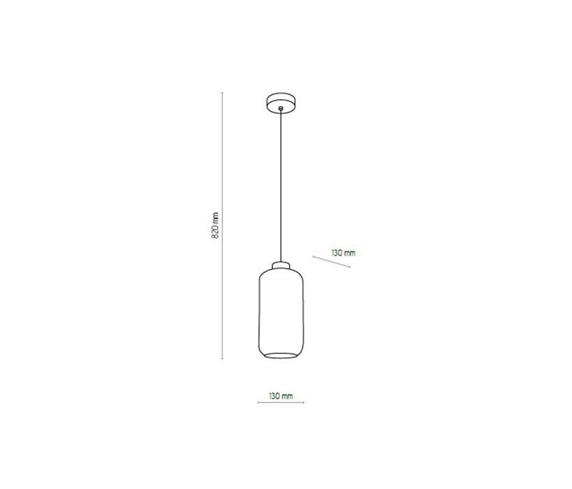 TK Lighting TK-2077 Marco függeszték