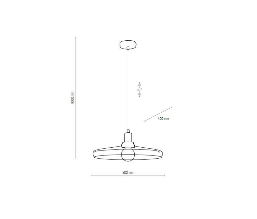 TK Lighting TK-4290 Libra függeszték