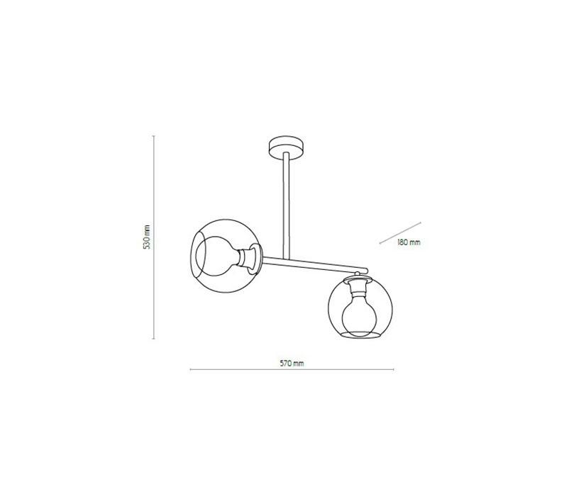TK Lighting TK-4259 Avila függeszték