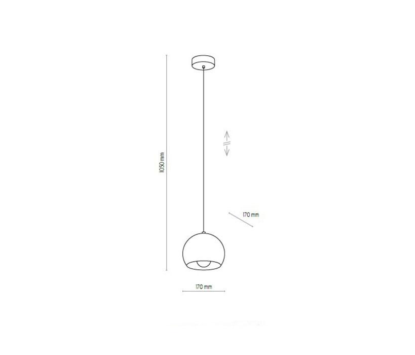 TK Lighting TK-2781 Castello függeszték