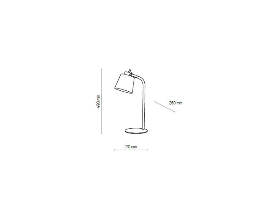 TK Lighting TK-5206 Primo íróasztali lámpa
